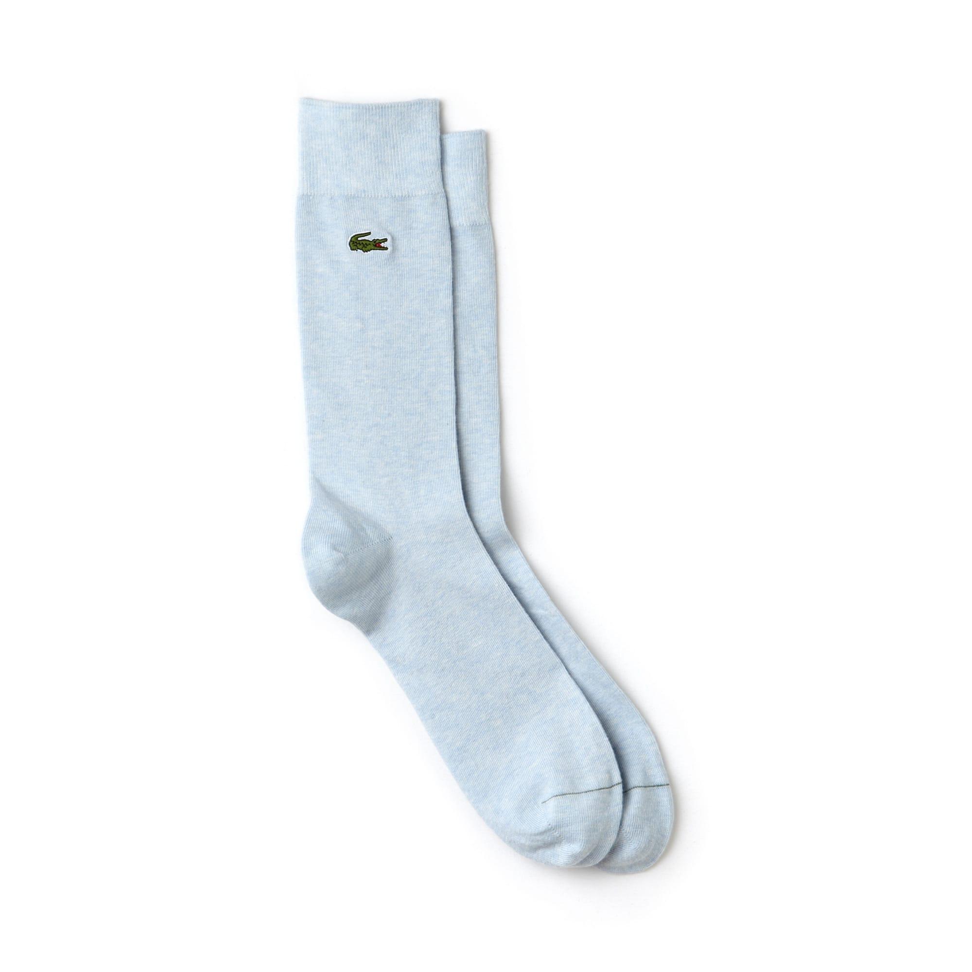 Men's Socks in unicolor jersey