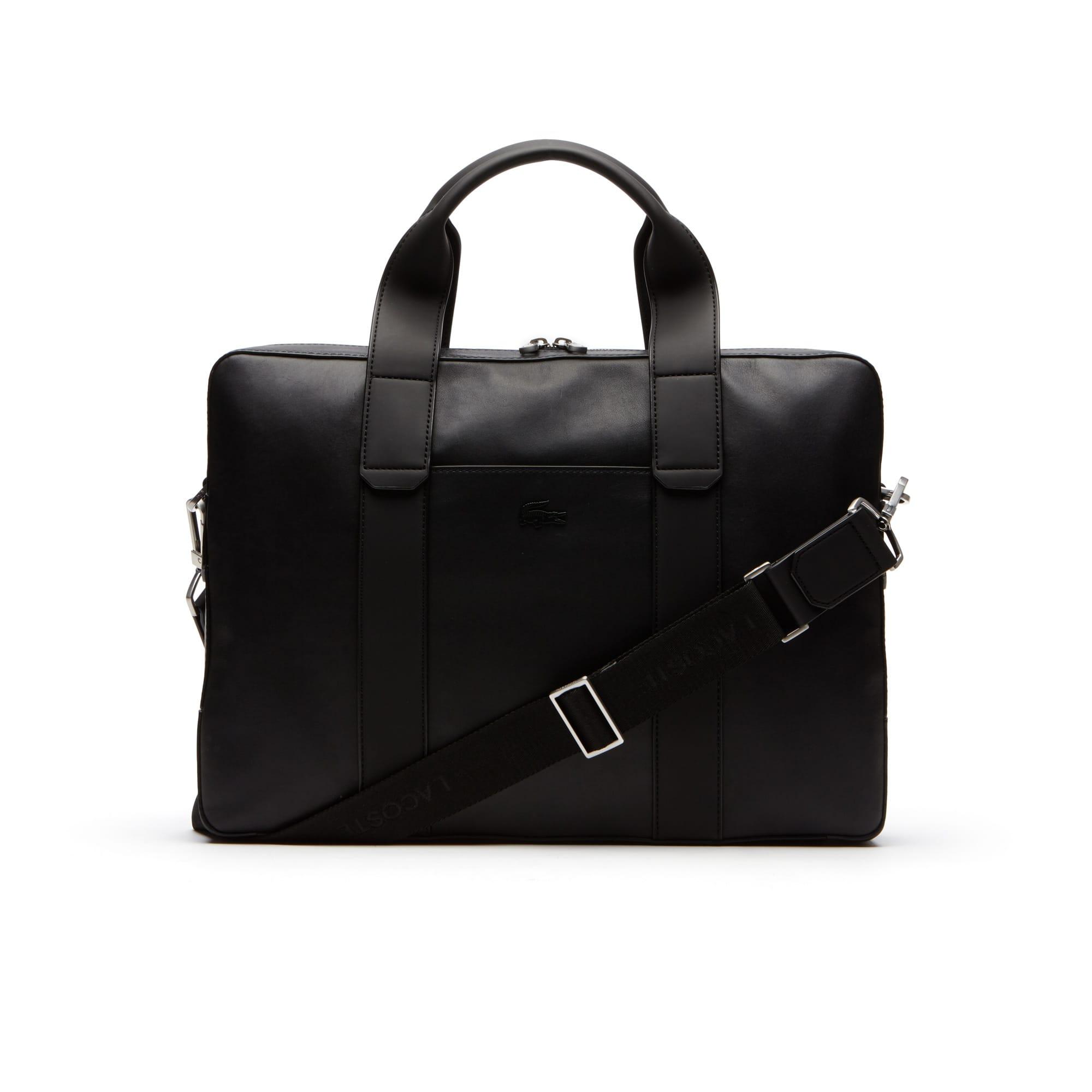 Men's Full Ace Soft Leather Computer Bag