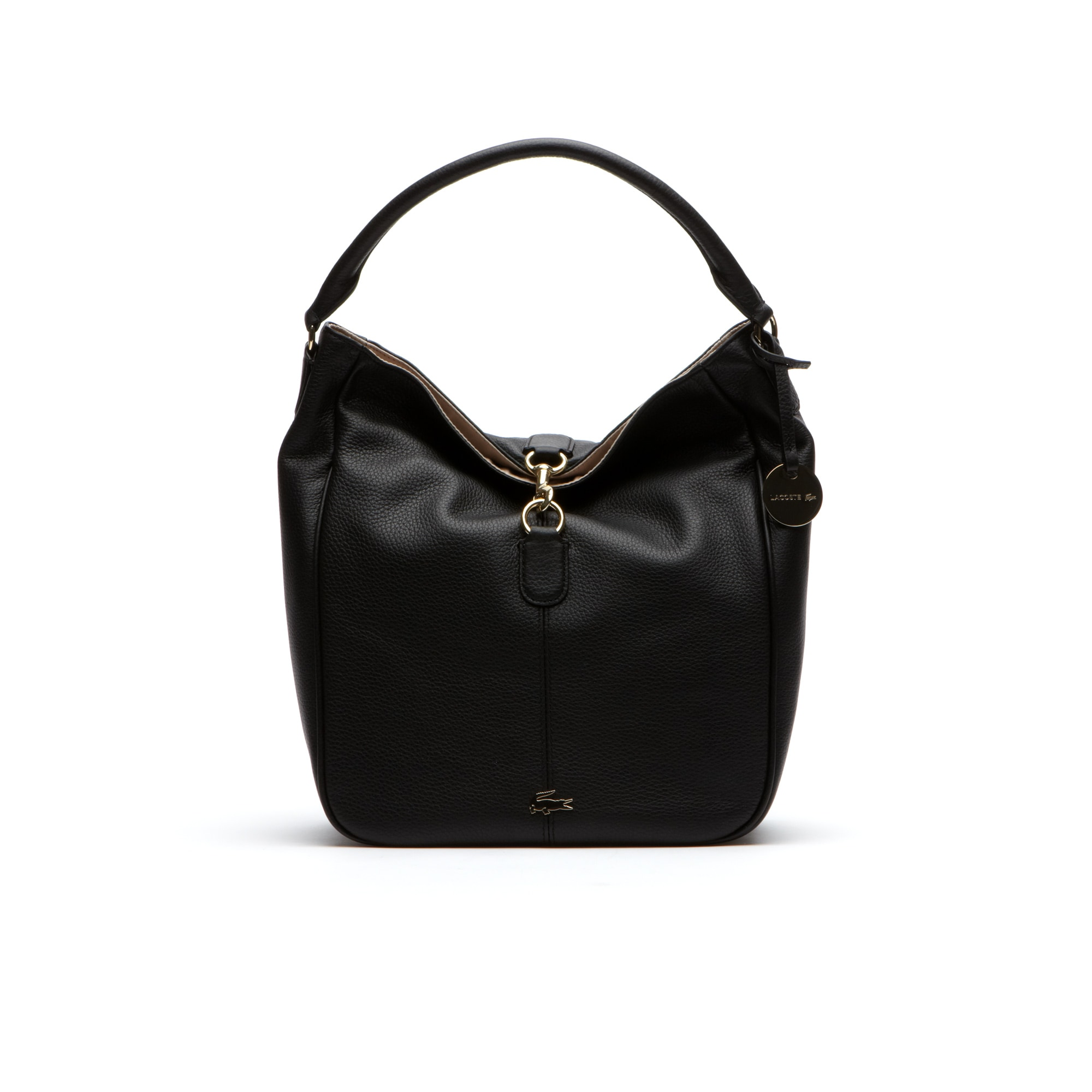 Daily hobo bag in leather