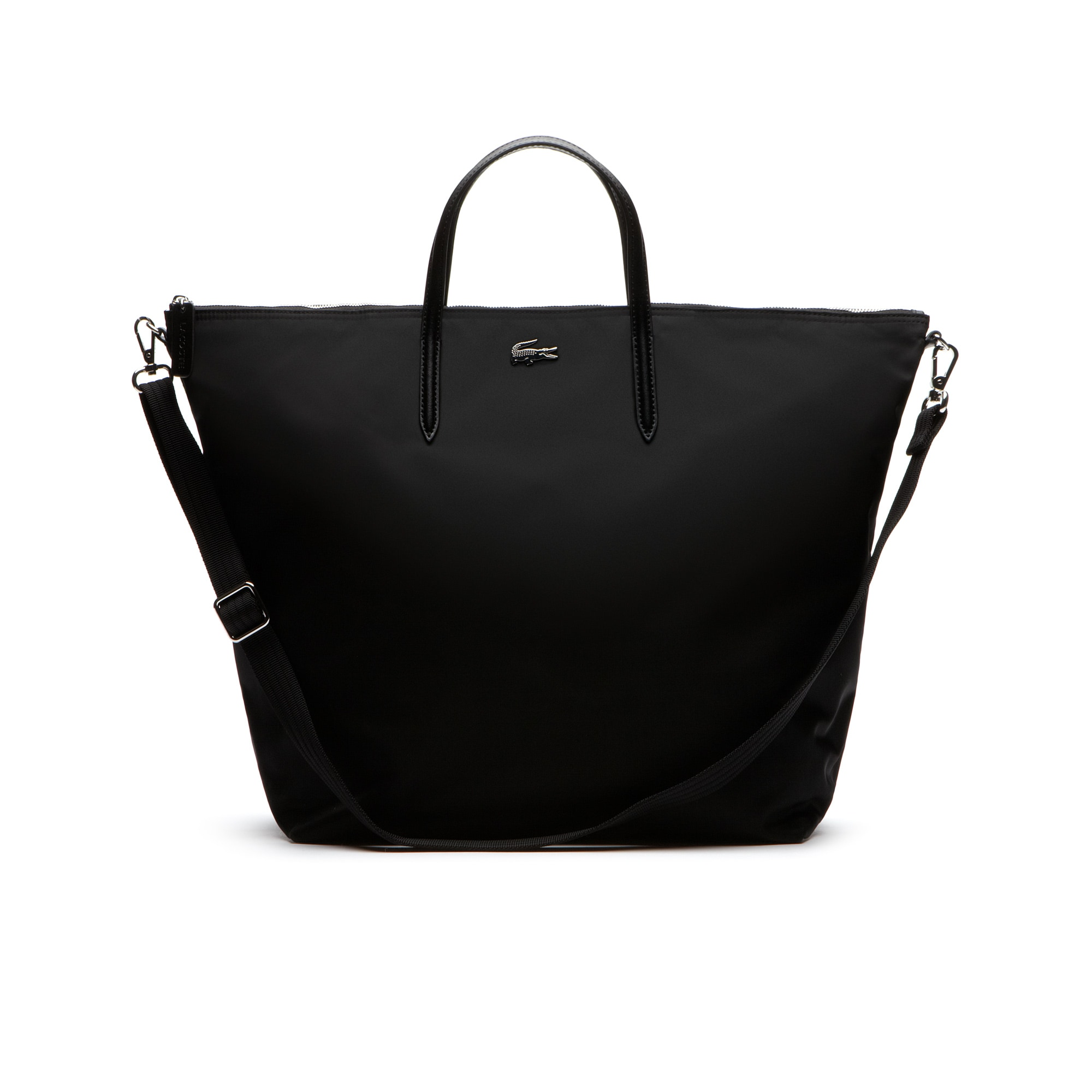 L.12.12 CONCEPT Nylon zippered travel tote bag | LACOSTE