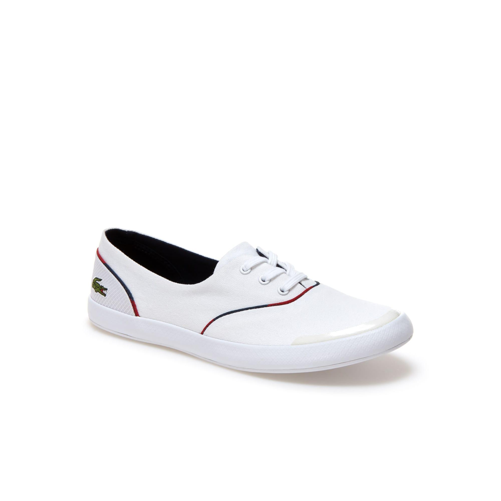 حذاء Lancelle 3 Eye للنساء من القماش