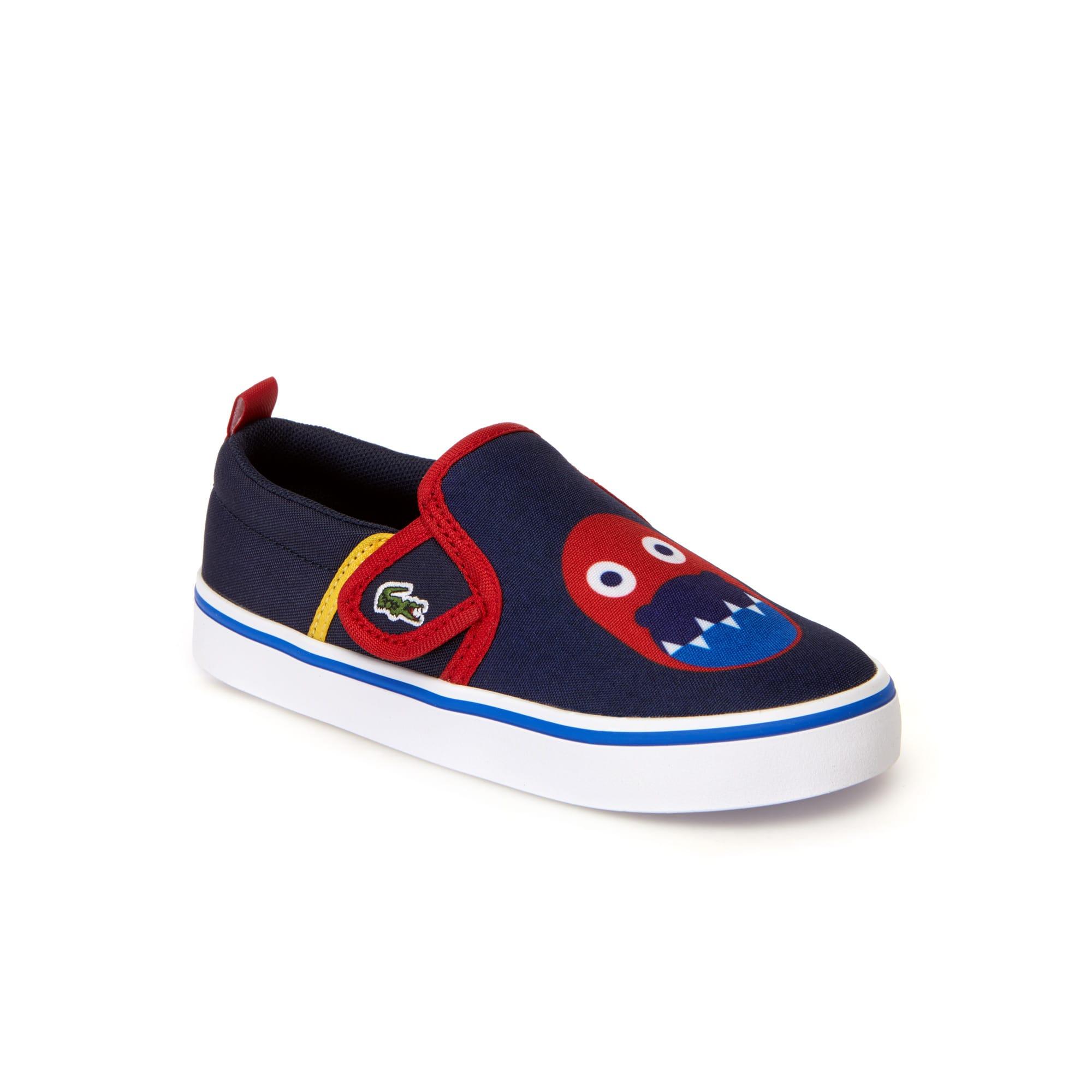 حذاء بدون رباط سهل الارتداء من قماش الكنفا الملون من مجموعة Gazon للأطفال الرضع