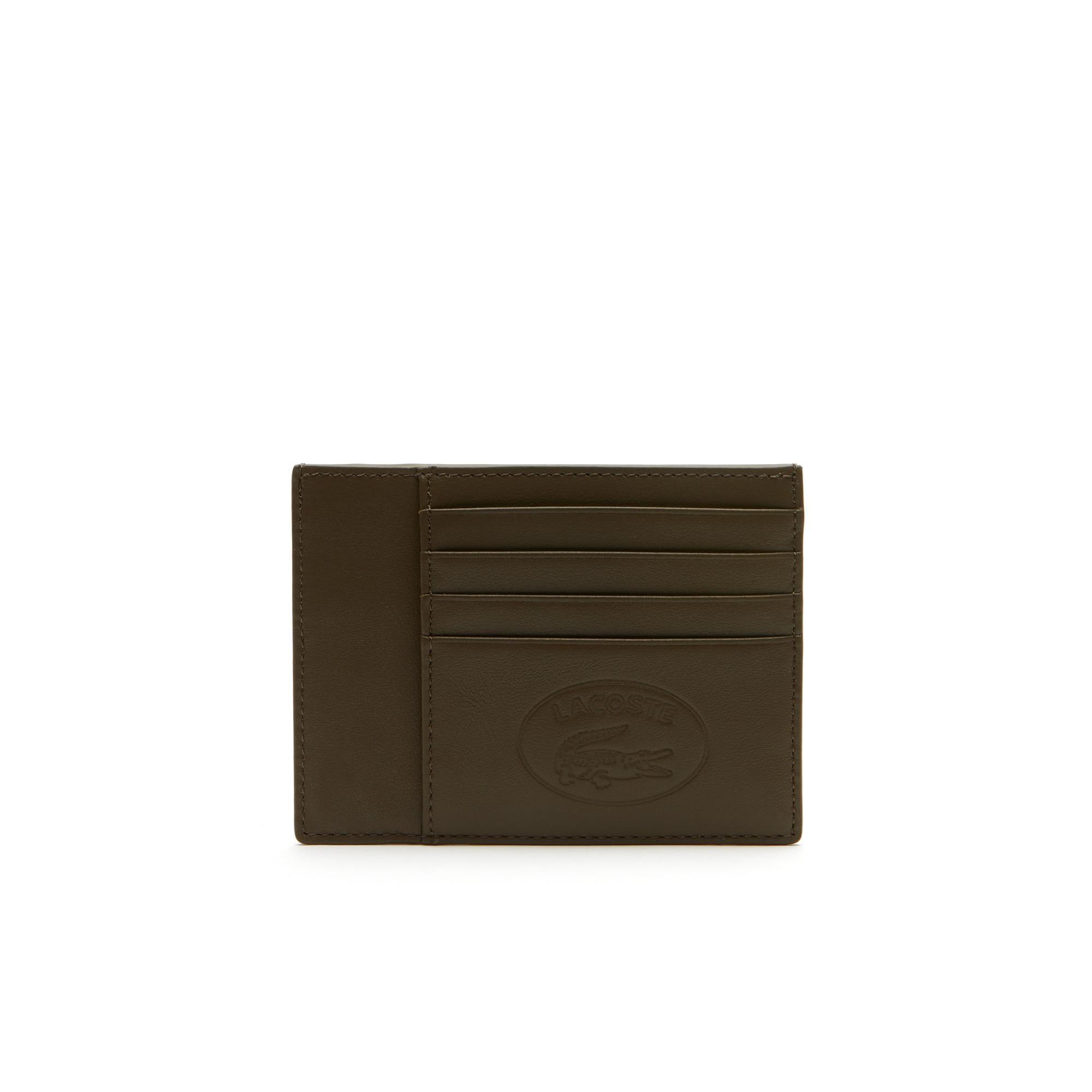 حافظة بطاقات رجالية L12.12 مع شارة