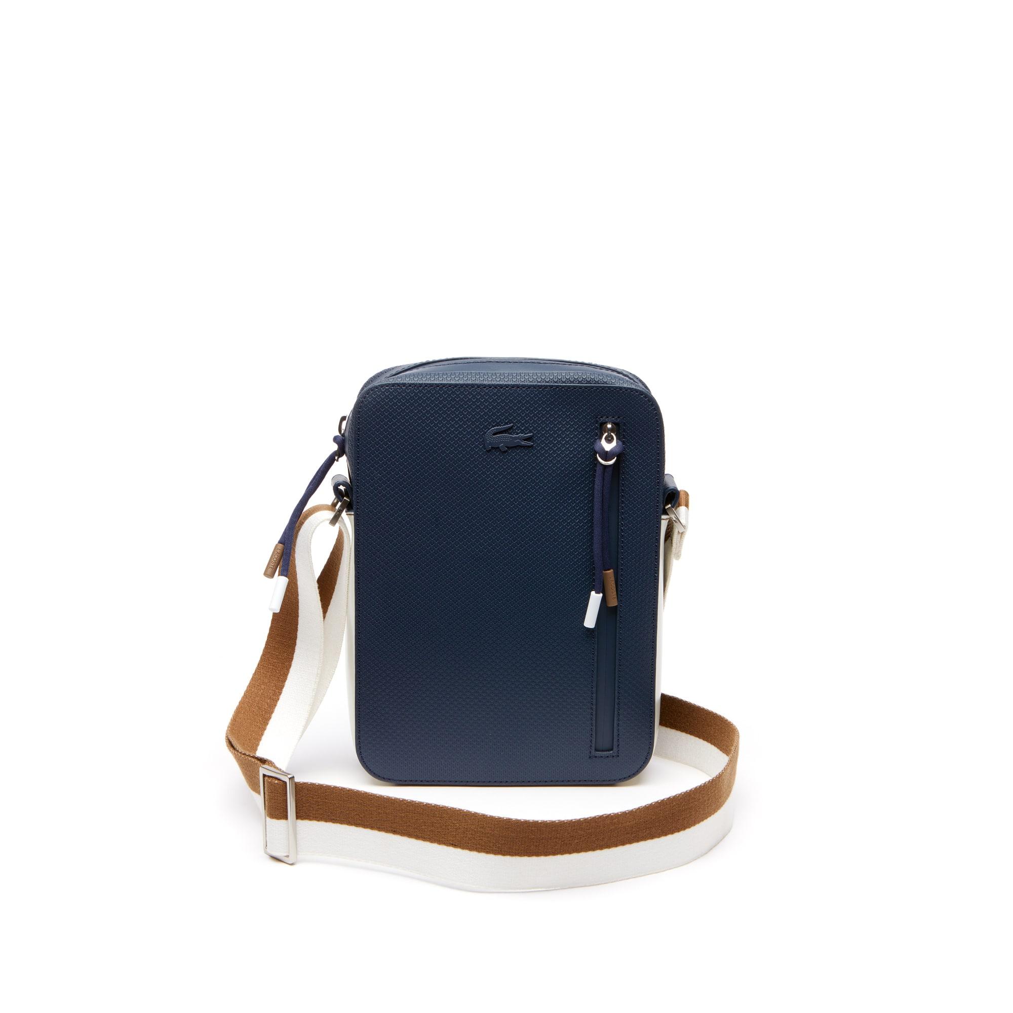 حقيبة رجالية Chantaco من الجلد مع حزام كتف