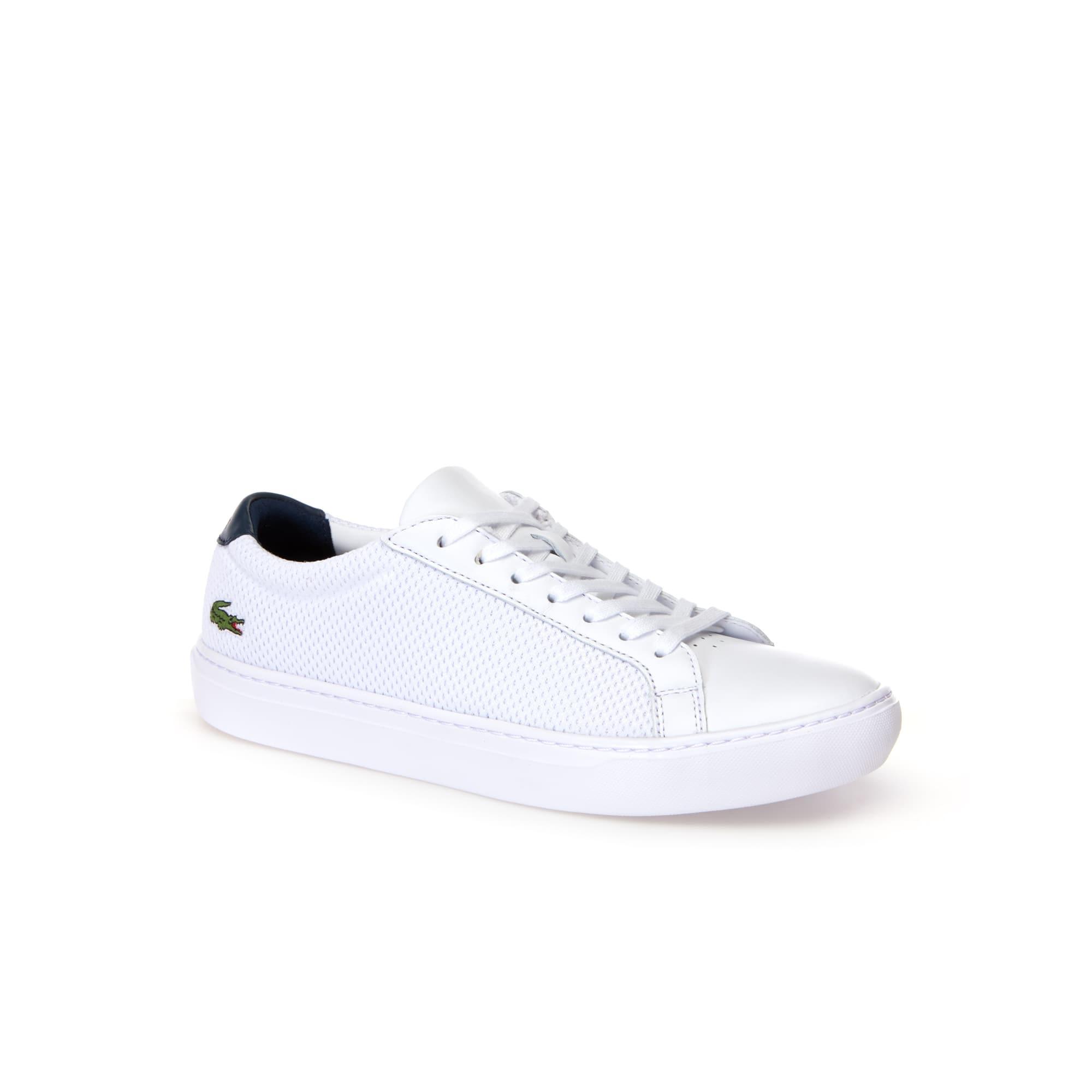 حذاء L.12.12 LIGHT-WT من الجلد والقماش الرياضي للرجال