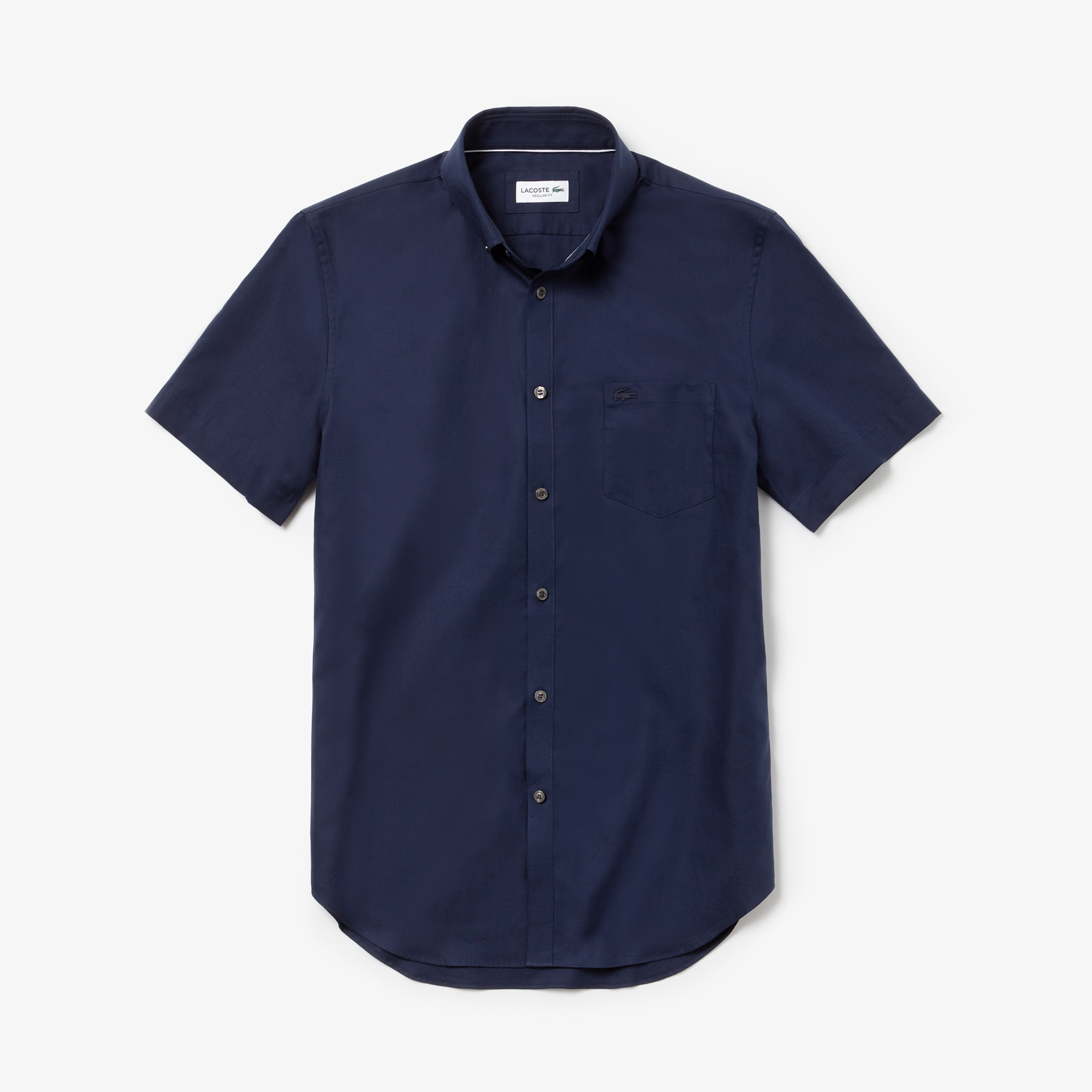 قميص ذو قصة منتظمة محاك بأسلوب ميني بيكيه للرجال