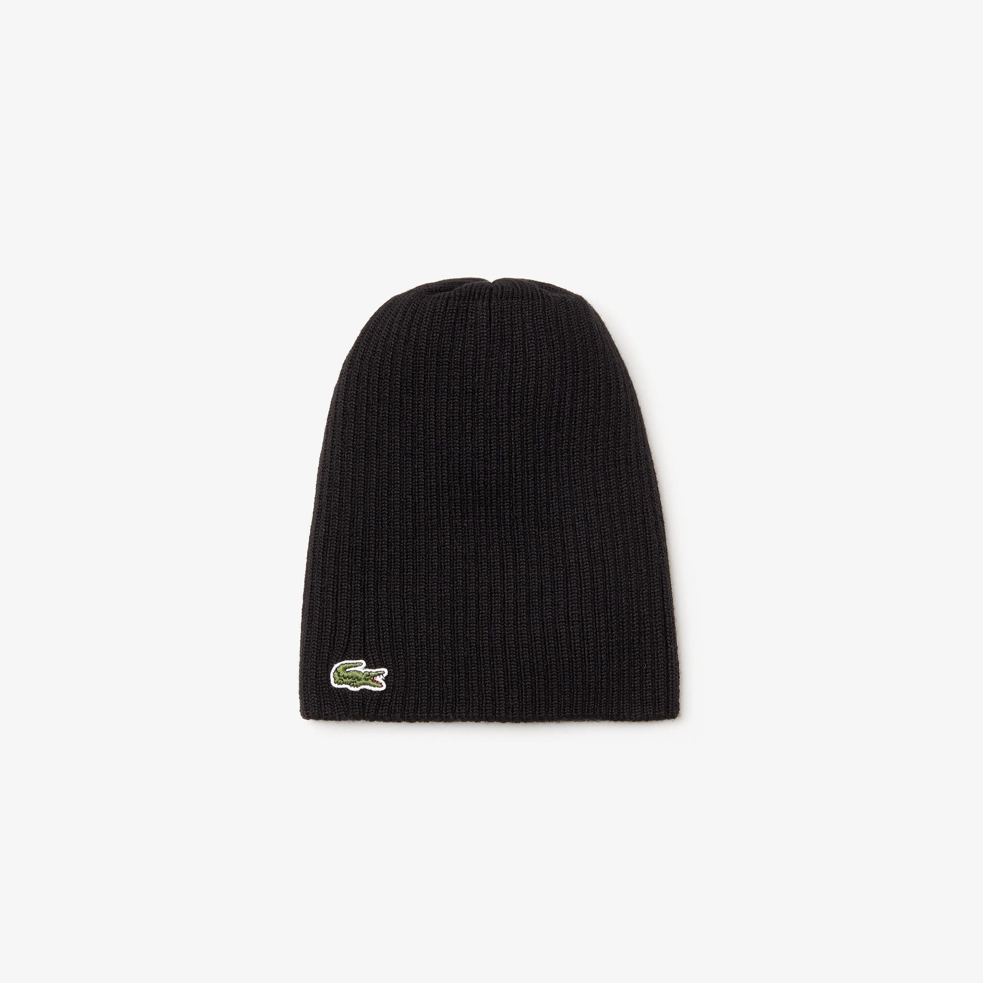 قبعة صغيرة من الصوف المُضلَّع للرجال