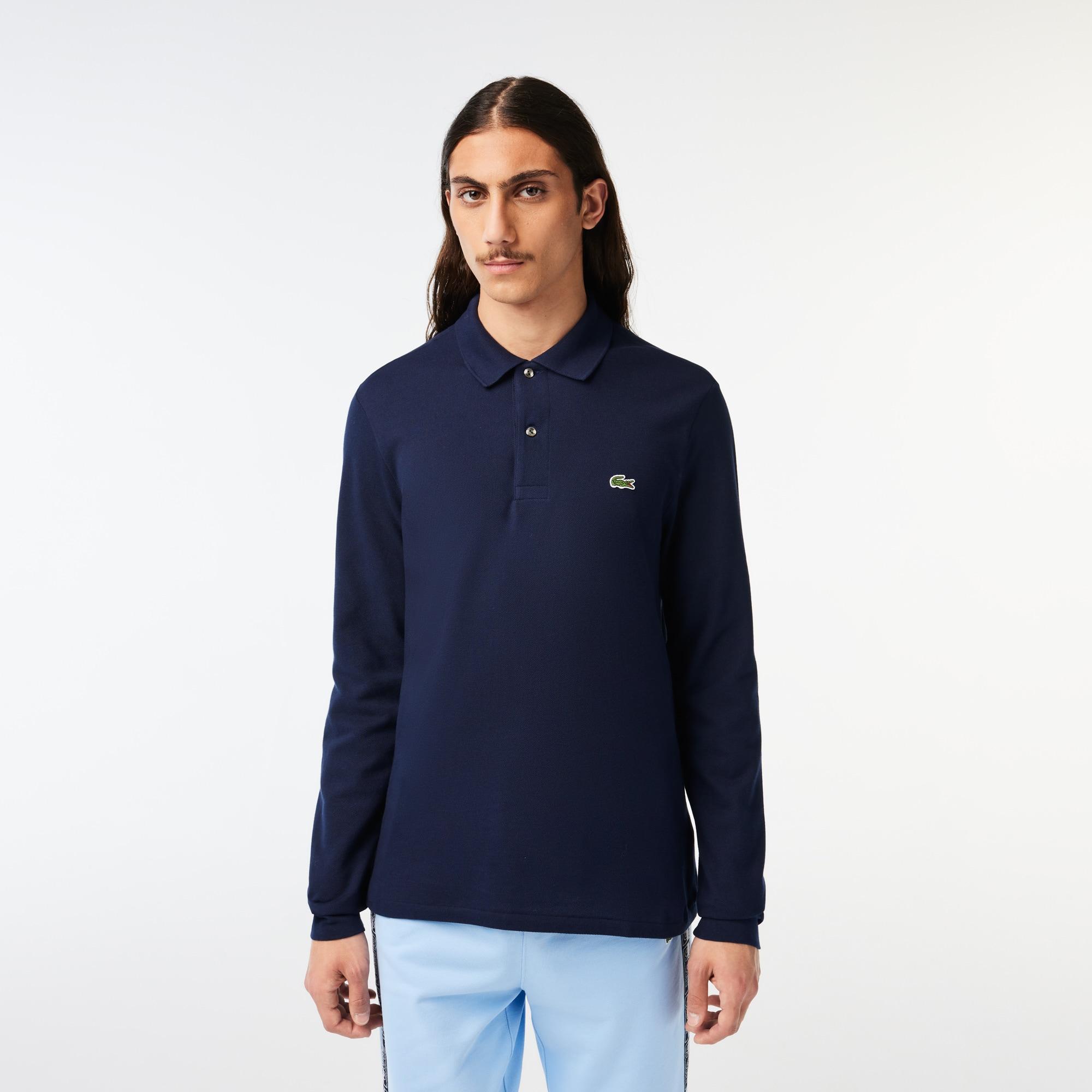 قميص بولو ذو أكمام طويلة من مجموعة Lacoste L.12.12