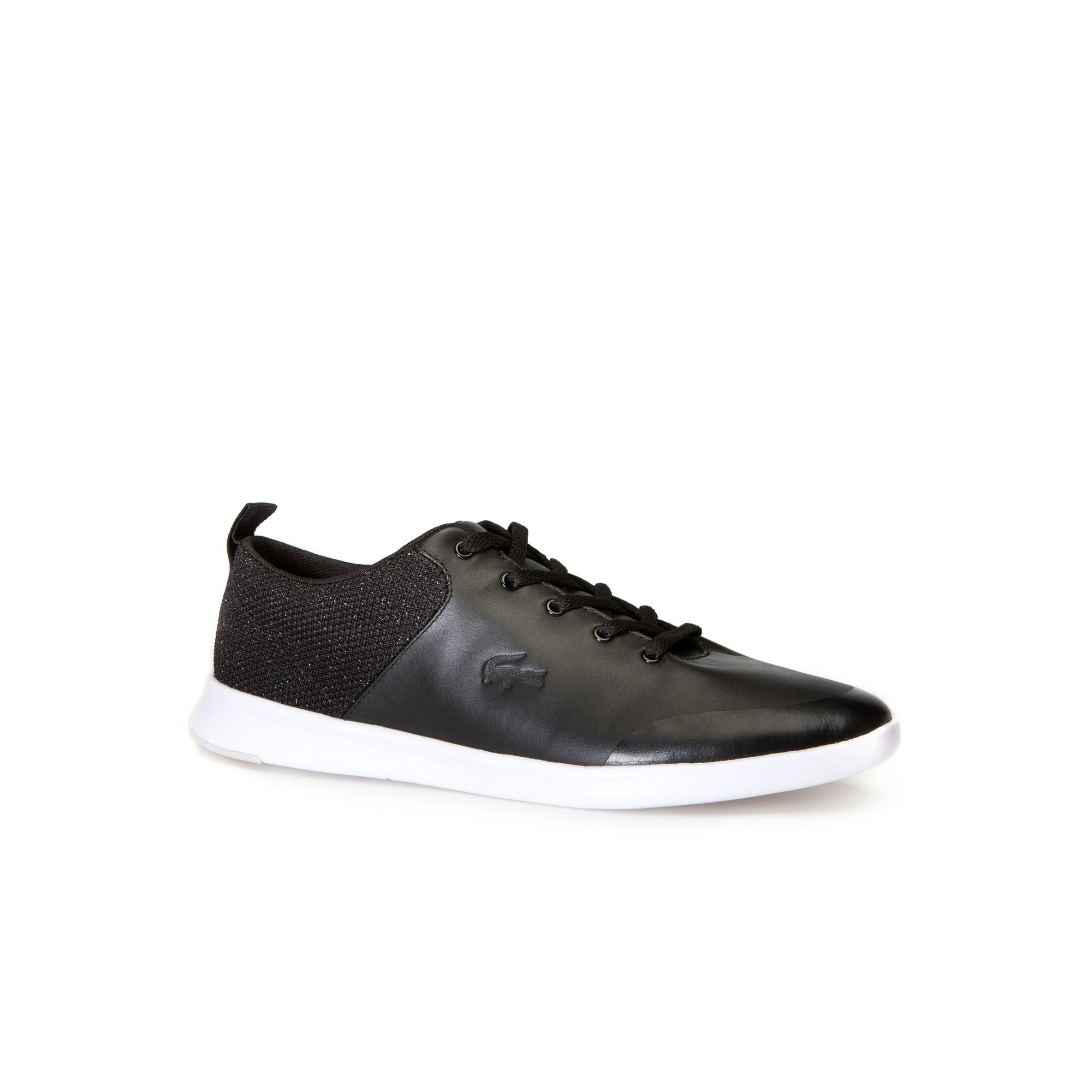 حذاء Avenir Lace-Up من الجلد الرياضي للنساء