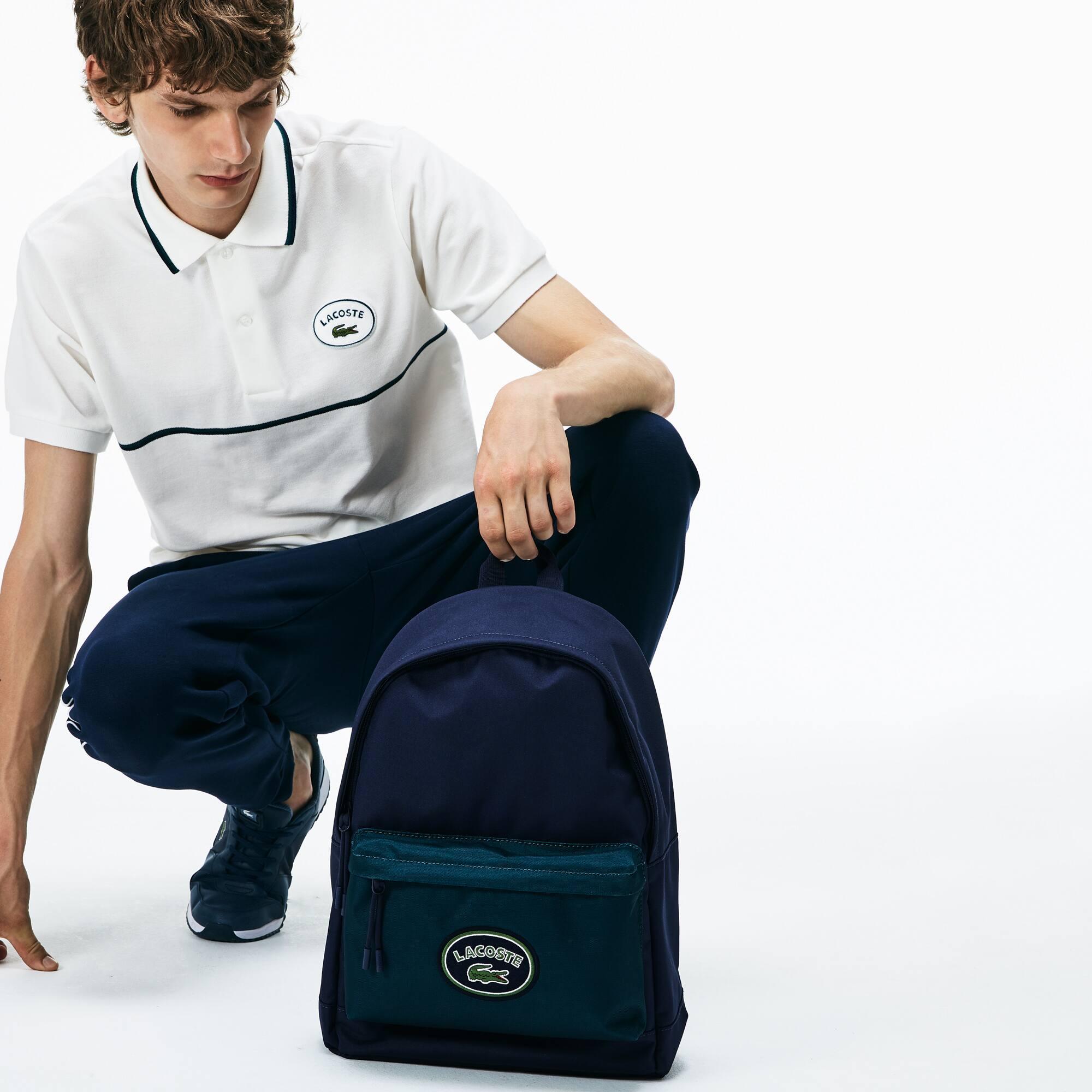 حقيبة ظهر متعددة الألوان من مجموعة Néocroc Lacoste Badge للرجال