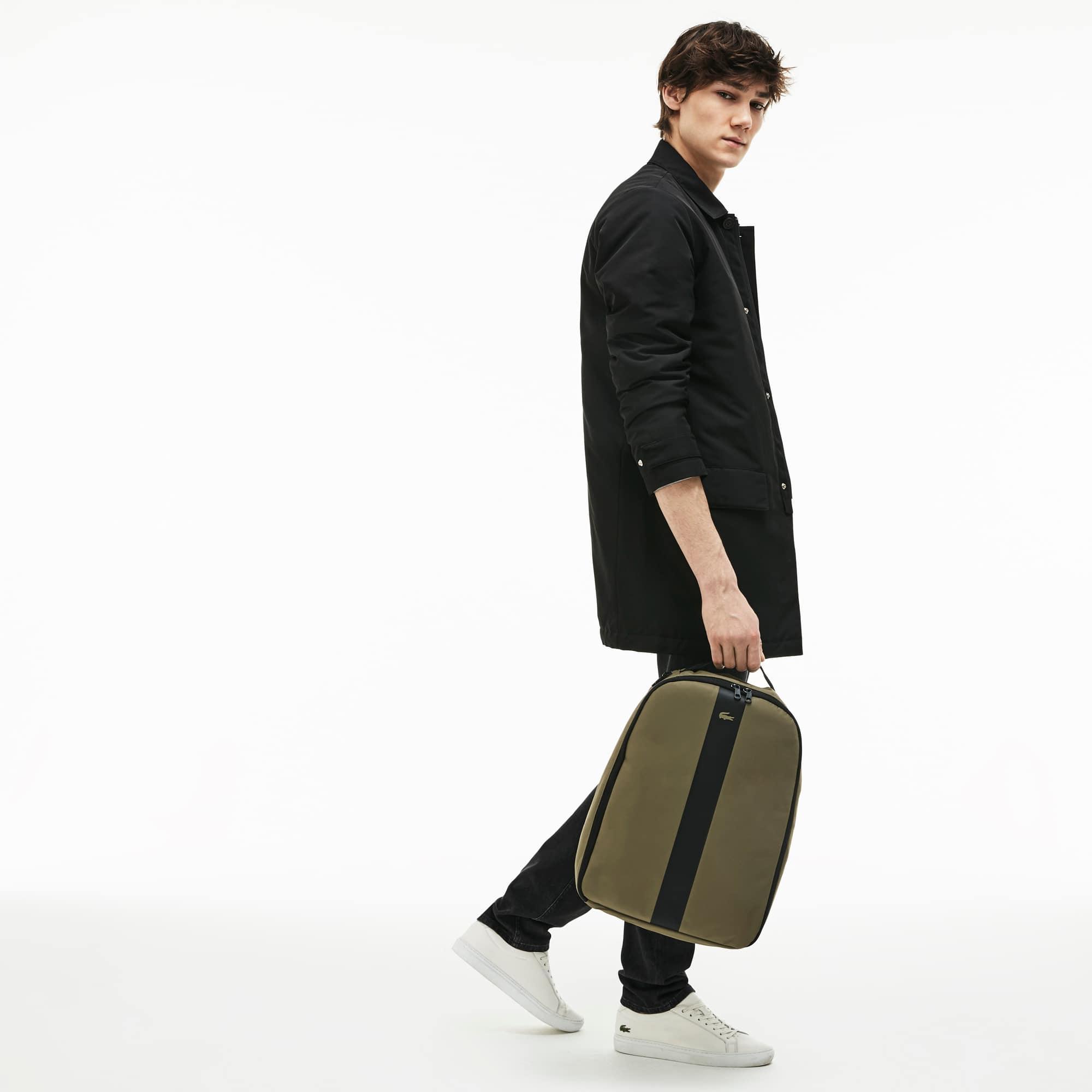 حقيبة ظهر حضرية من النايلون بنطاقين متباينين