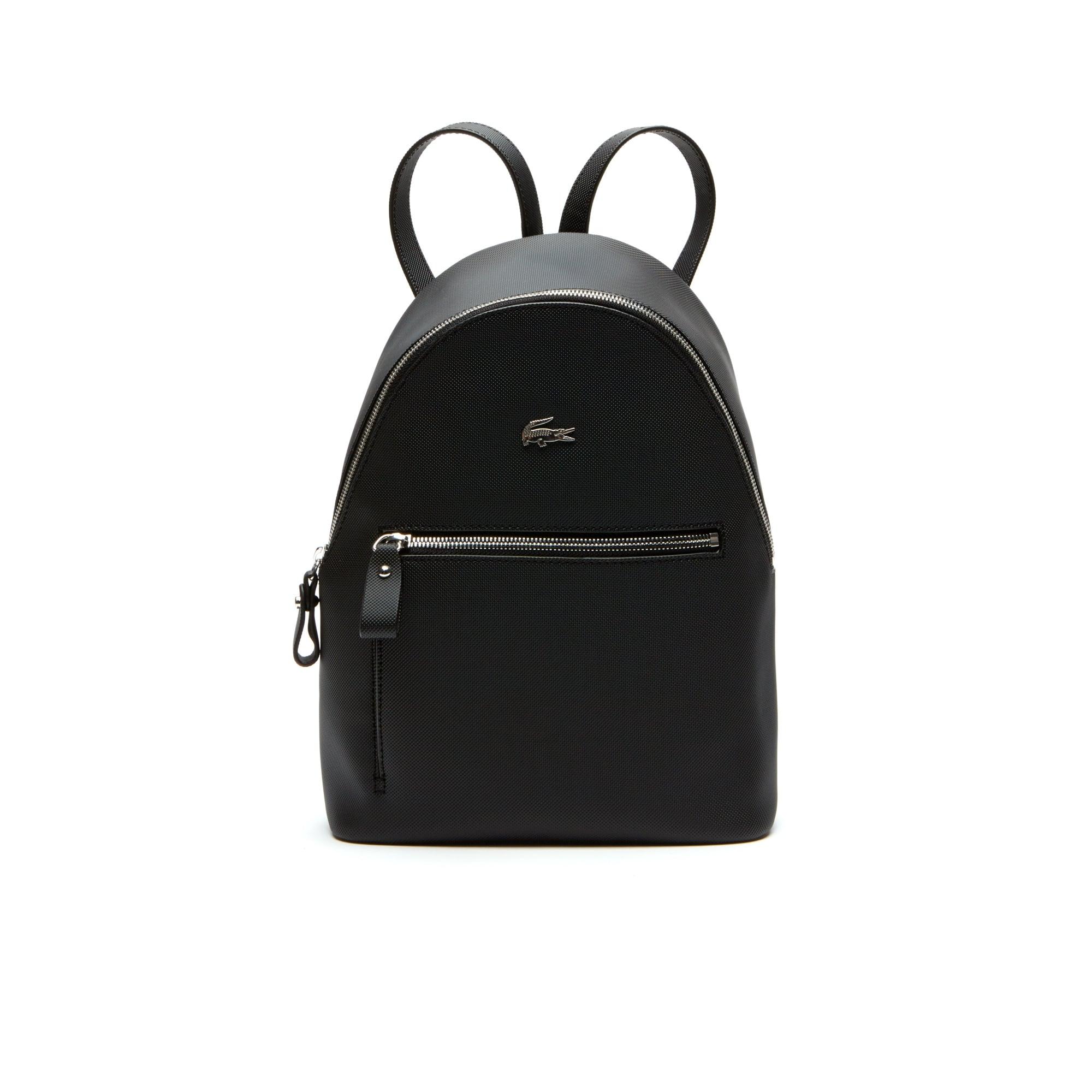 حقيبة ظهر مُصنَّعة من قماش الكنفا بأسلوب بيكيه من مجموعة Daily Classic للسيدات