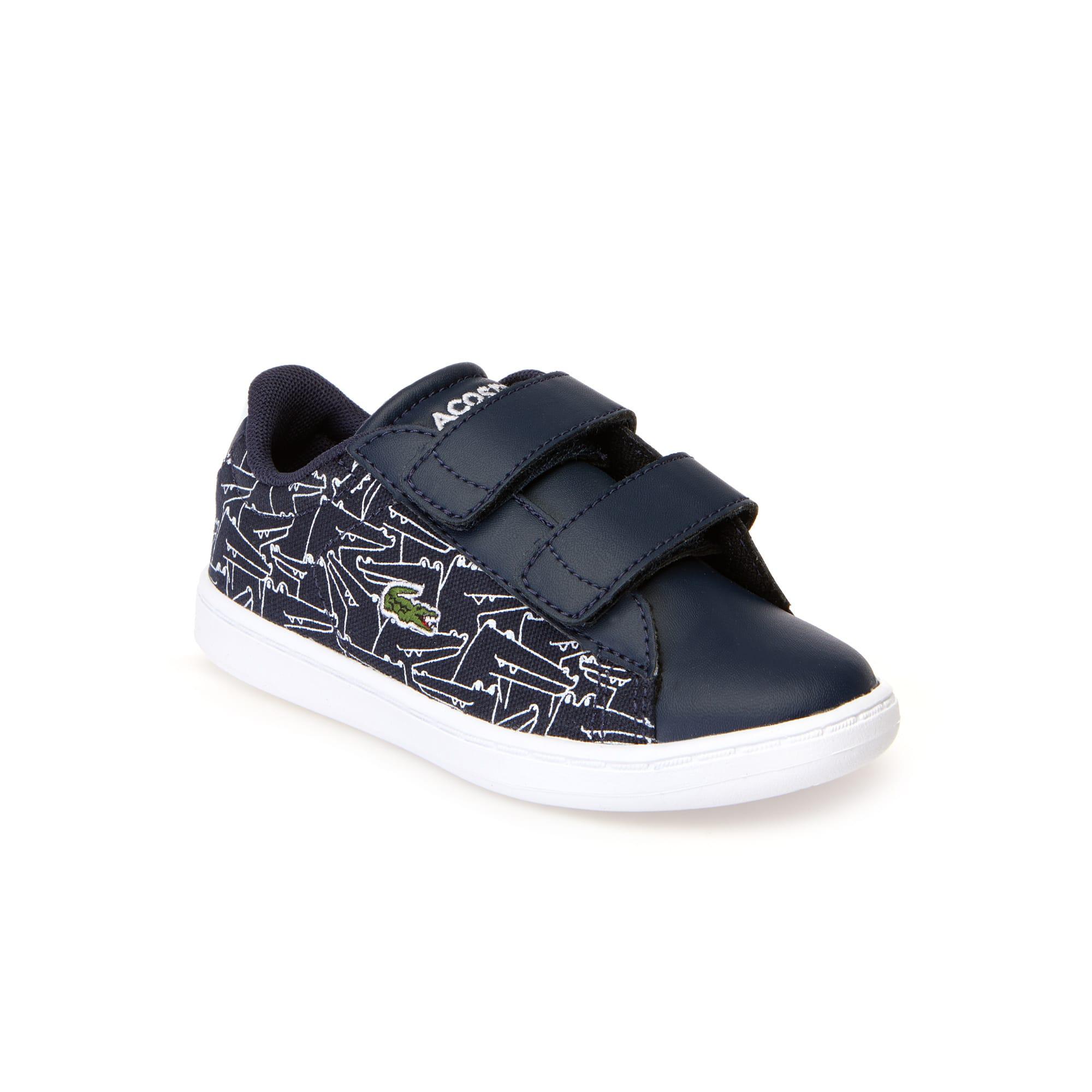 حذاء رياضي من خيوط صناعية وقماش الكنفا من مجموعة Carnaby Evo للأطفال الرضع