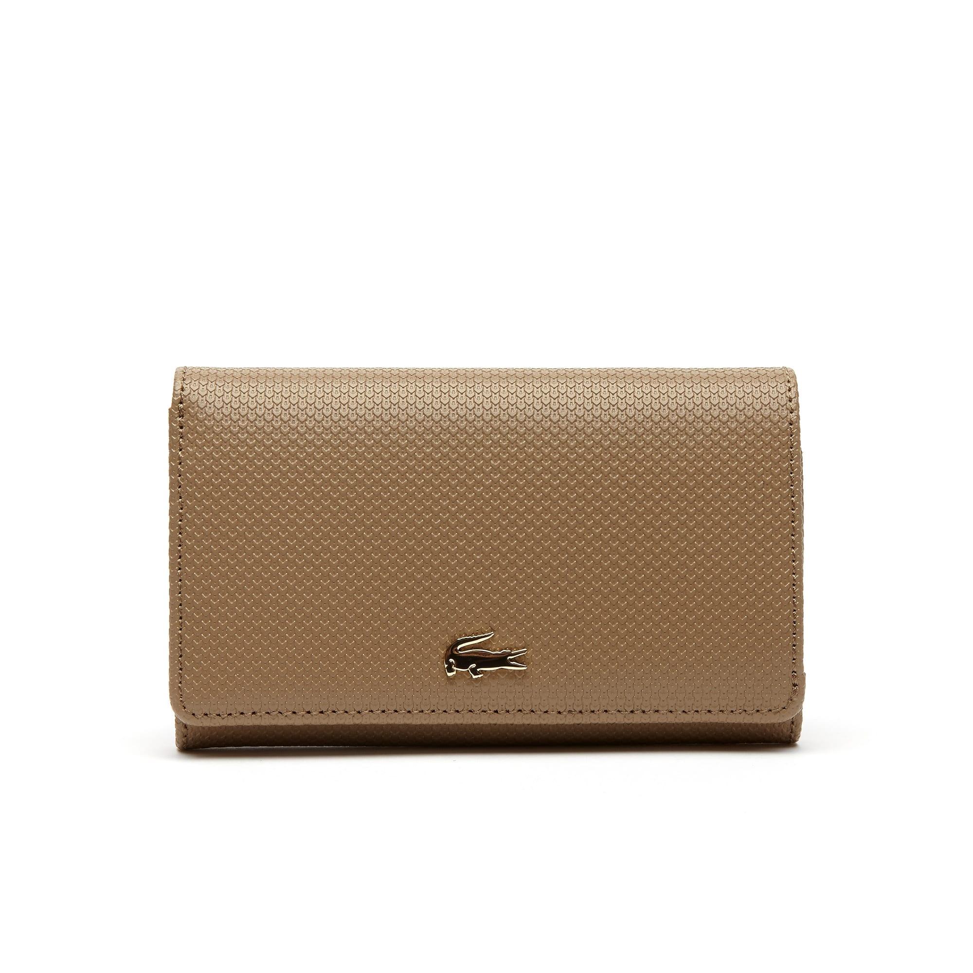 محفظة نسائية بلونين  من جلد بيكيه