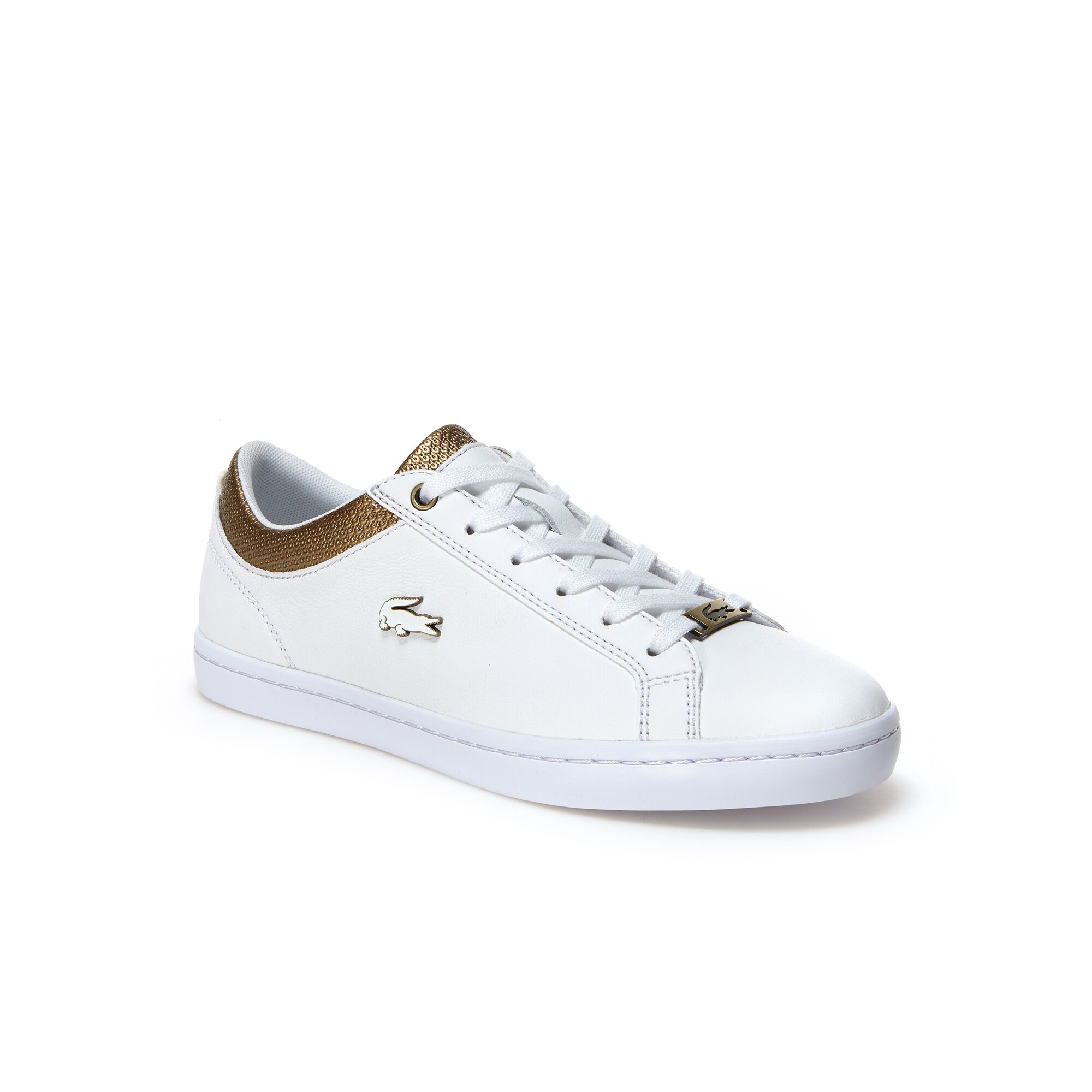 حذاء الجلد المُسطح Straightset للنساء