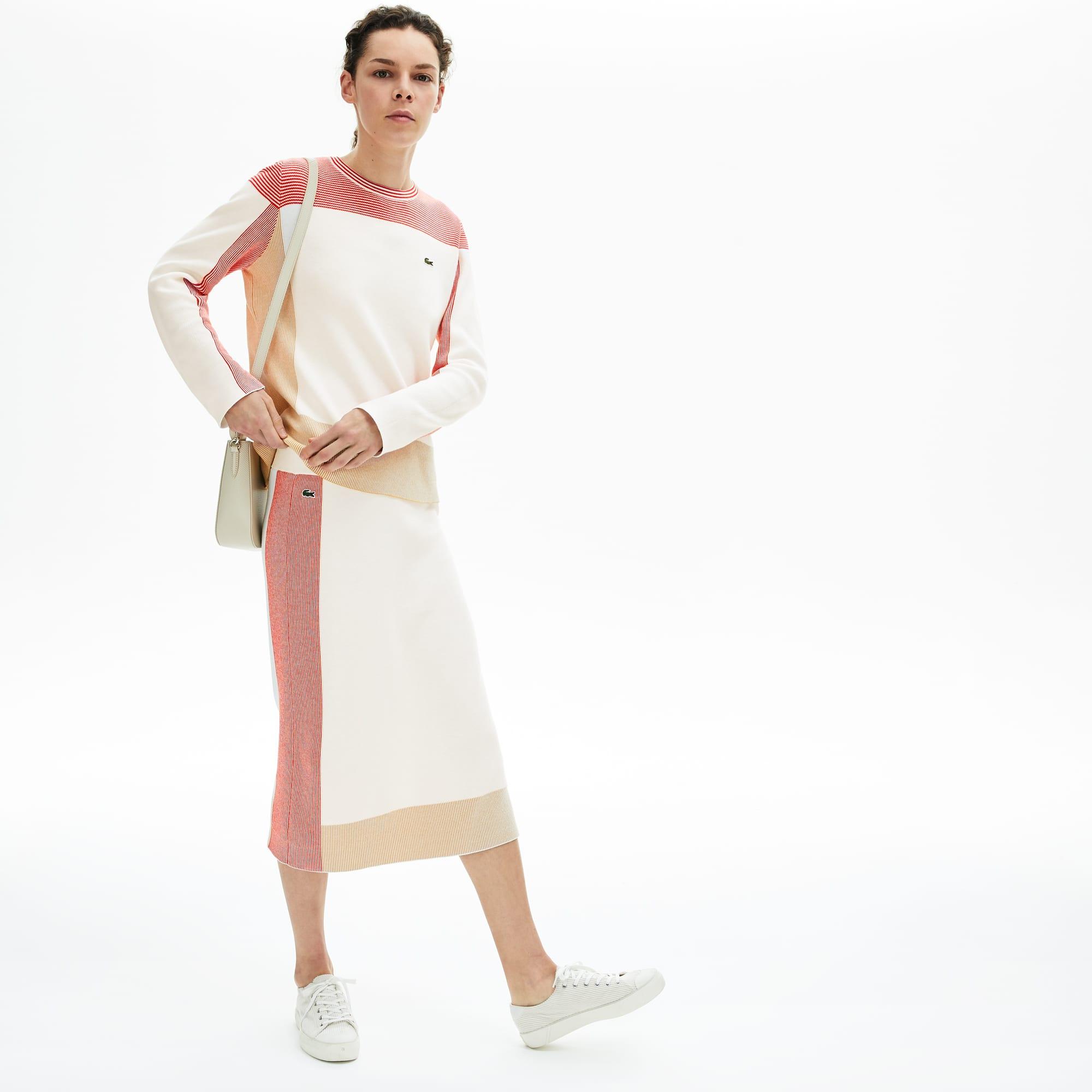 تنورة ضيقة بألوان متعددة للسيدات