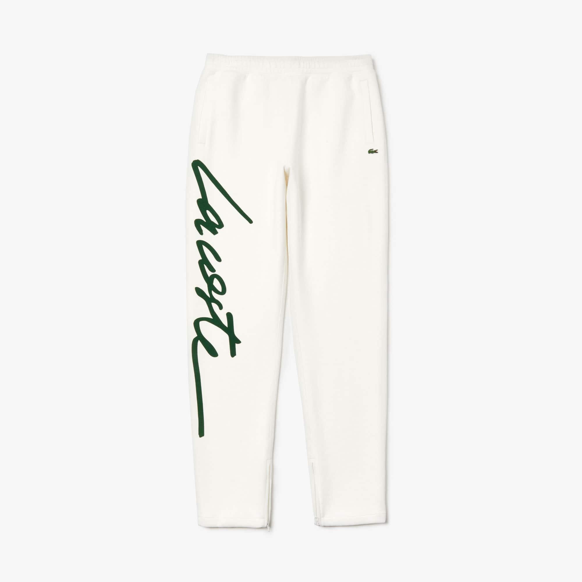a0f18cfd2f Unisex Lacoste LIVE Signature Texturised Fleece Sweatpants