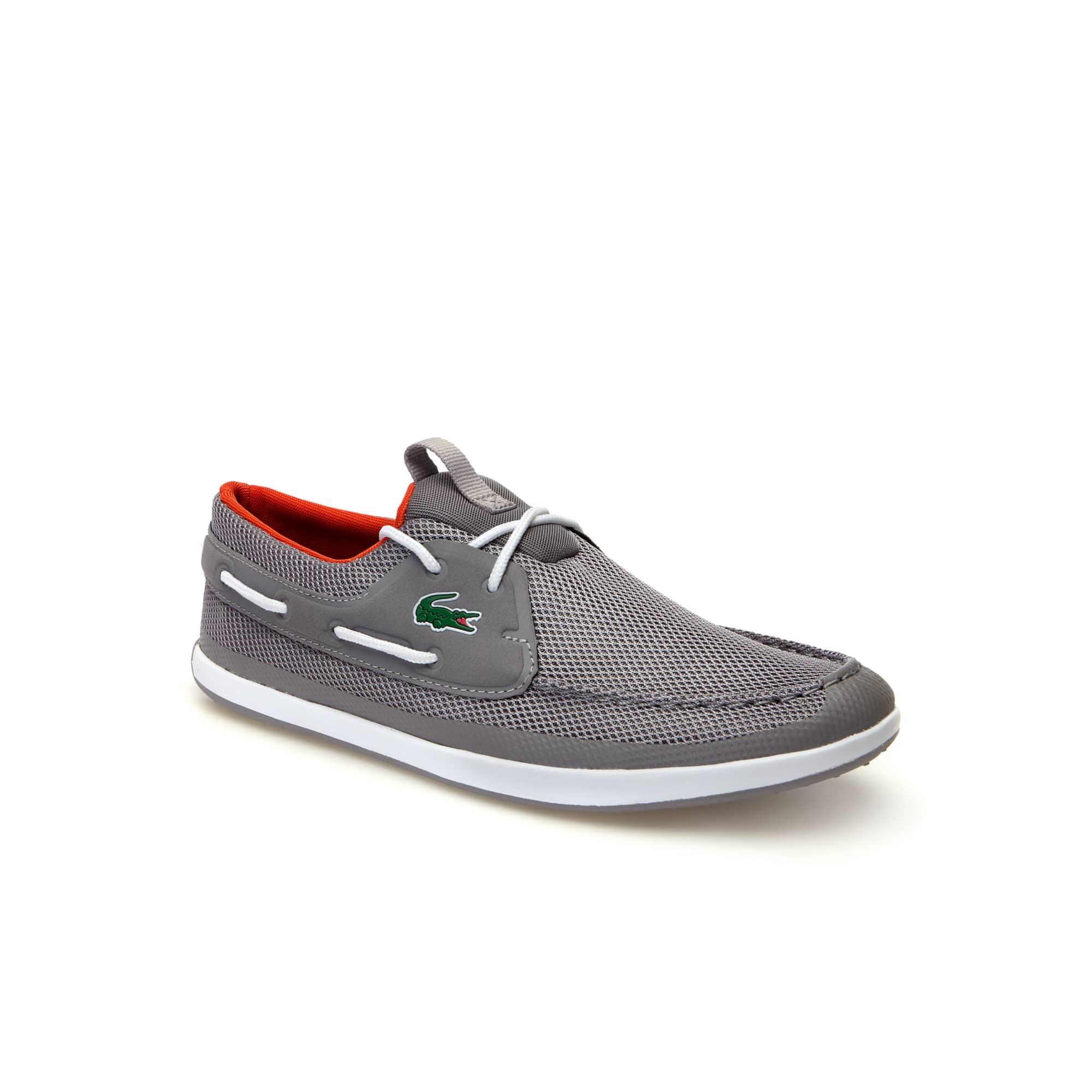 f2065ee96f32 Men s L.andsailing Textile Boat Shoes