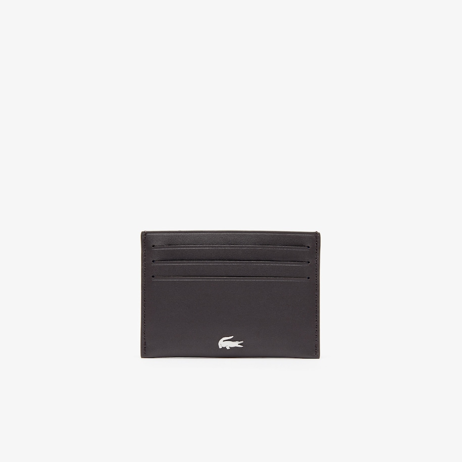 Men's Fitzgerald credit card holder in leather