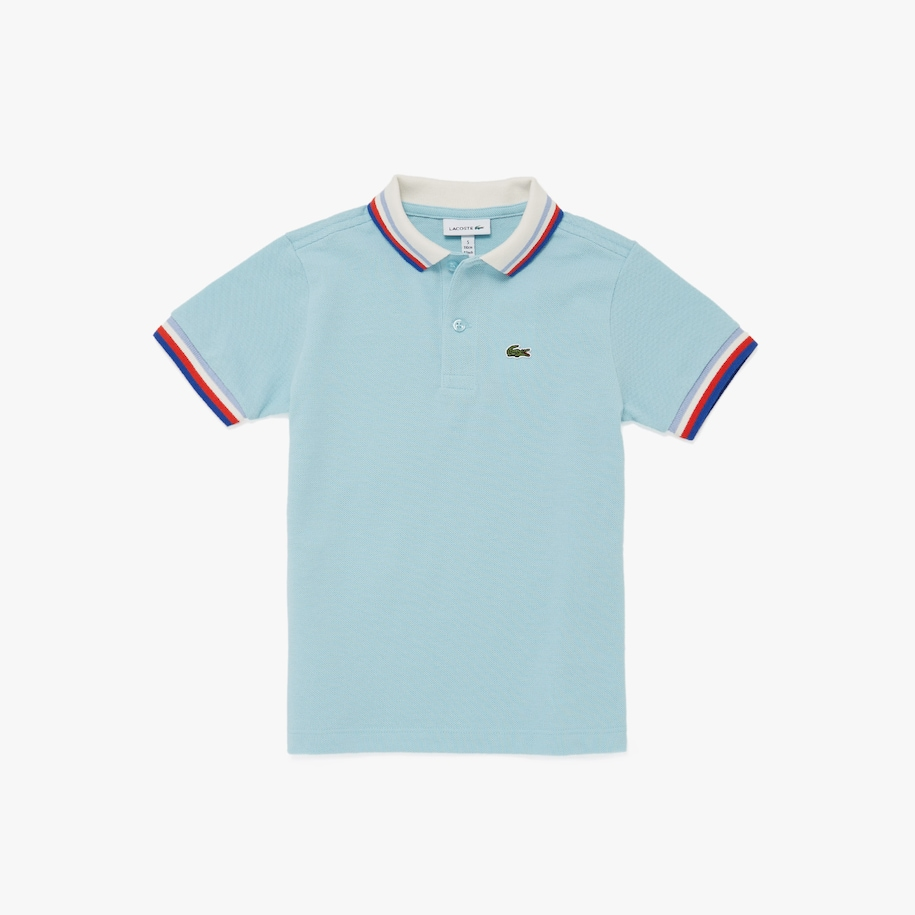 Boy's Lacoste Heritage Cotton Polo Shirt