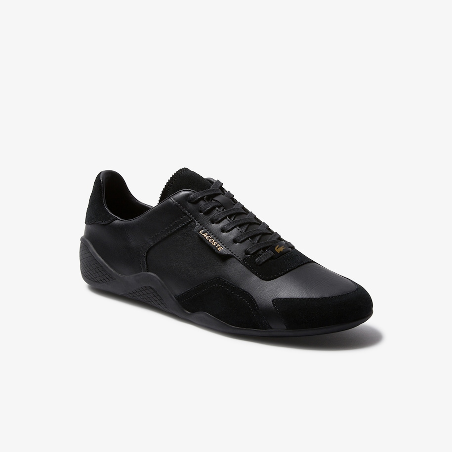 Men's Hapona Leather and Suede Trainers
