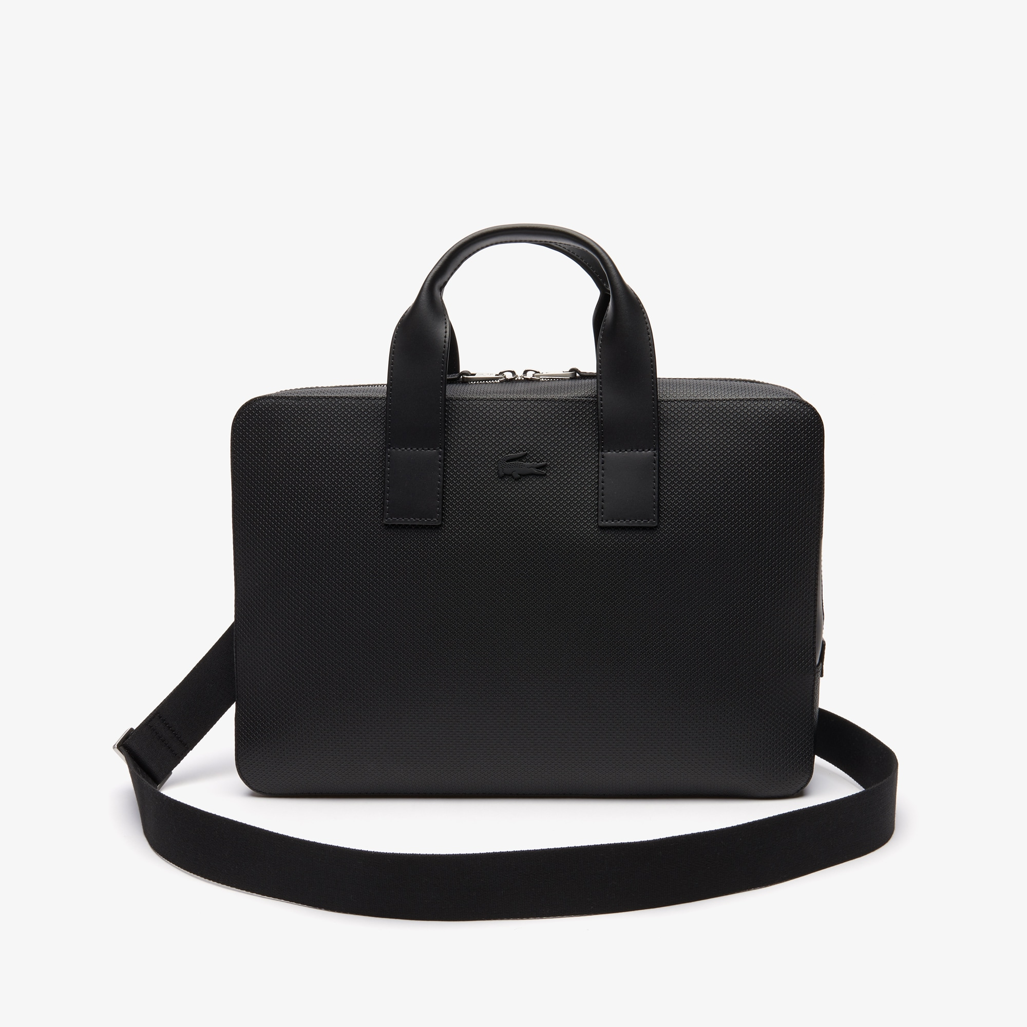 90c2061fbaf1d Men s Chantaco Matte Piqué Leather Computer Bag