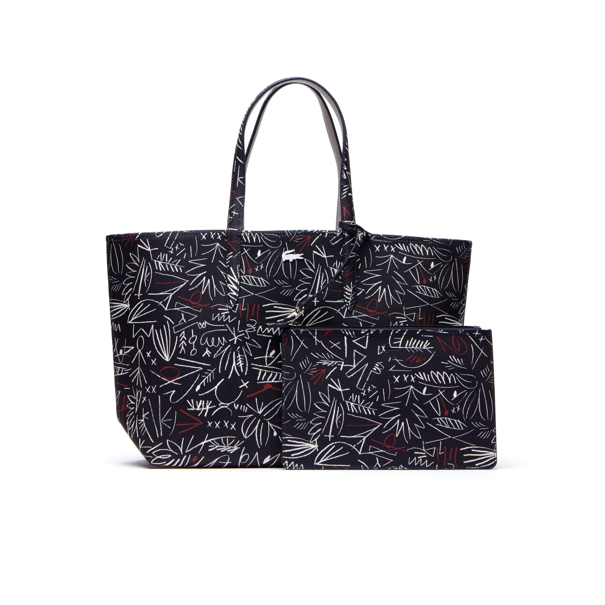 Women's Anna Reversible Bicolour Egyptian Print Tote Bag