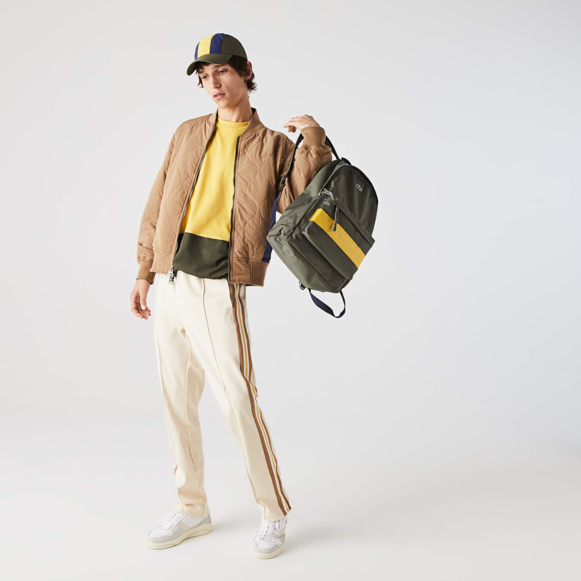 Men's Neocroc Lettered Colourblock Canvas Backpack