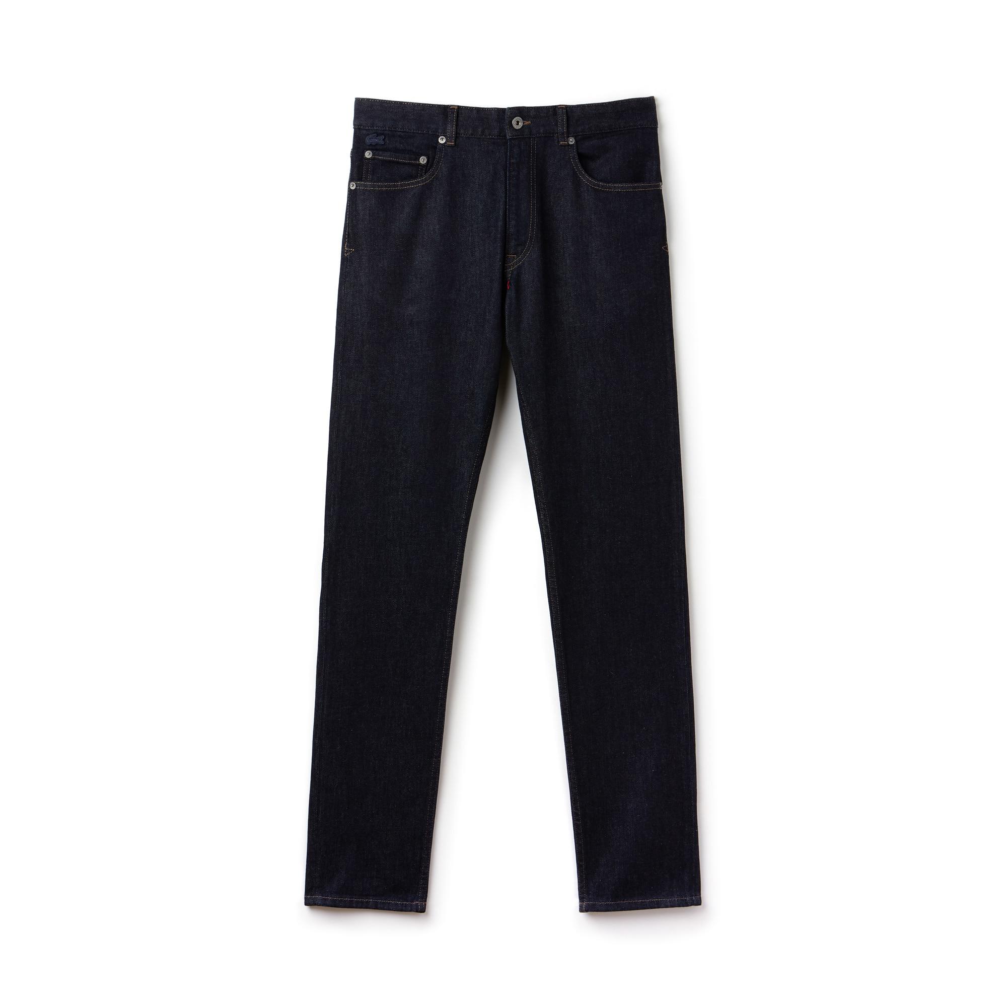 Men's Slim Fit 5 Pocket Stretch Cotton Denim Jeans