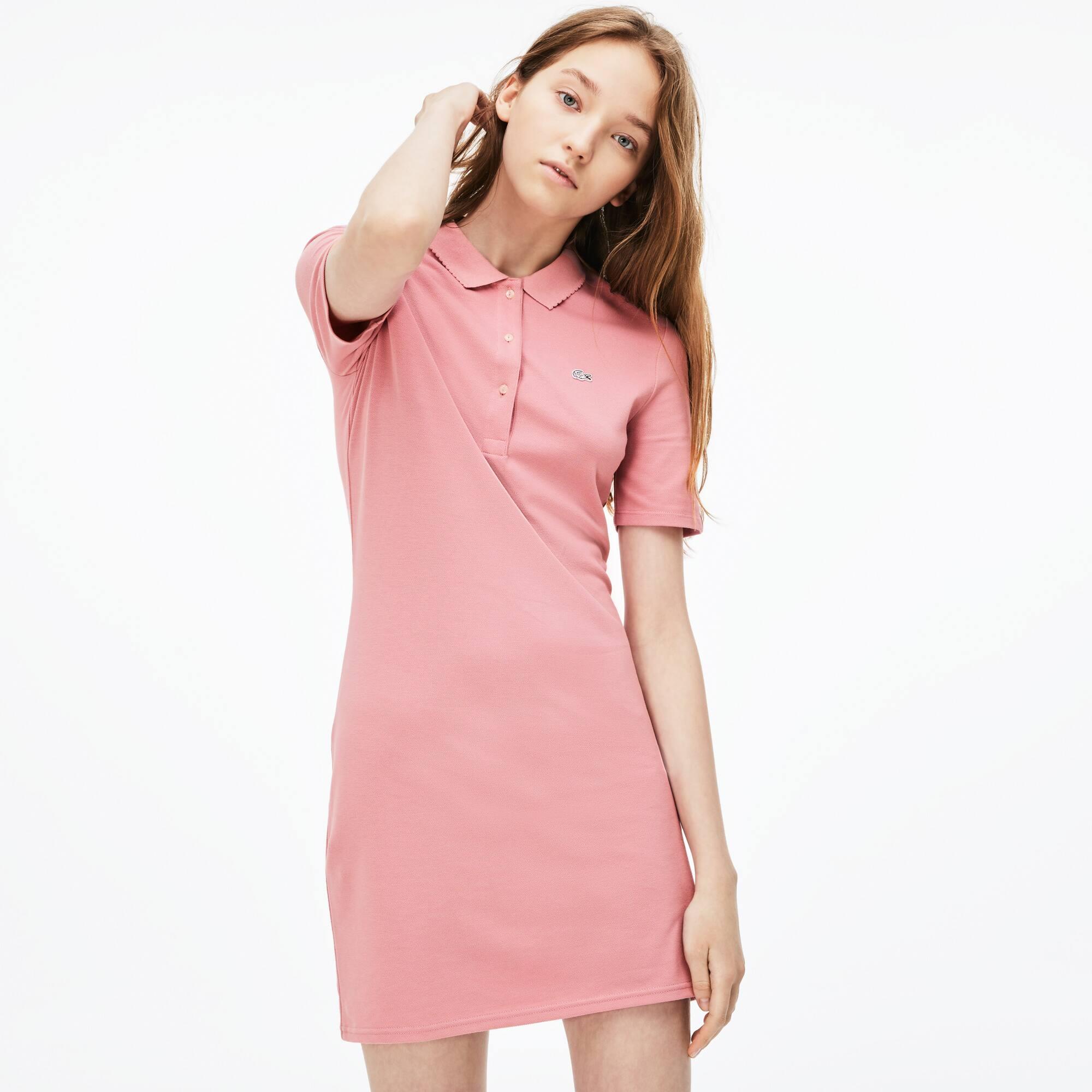 Women's Lacoste LIVE Stretch Petit Piqué Polo Dress