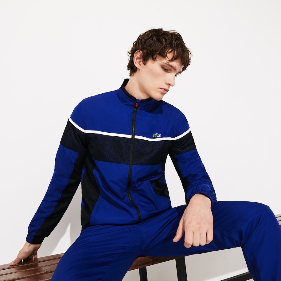 Men's Lacoste SPORT Taffeta And Jersey Tennis Tracksuit