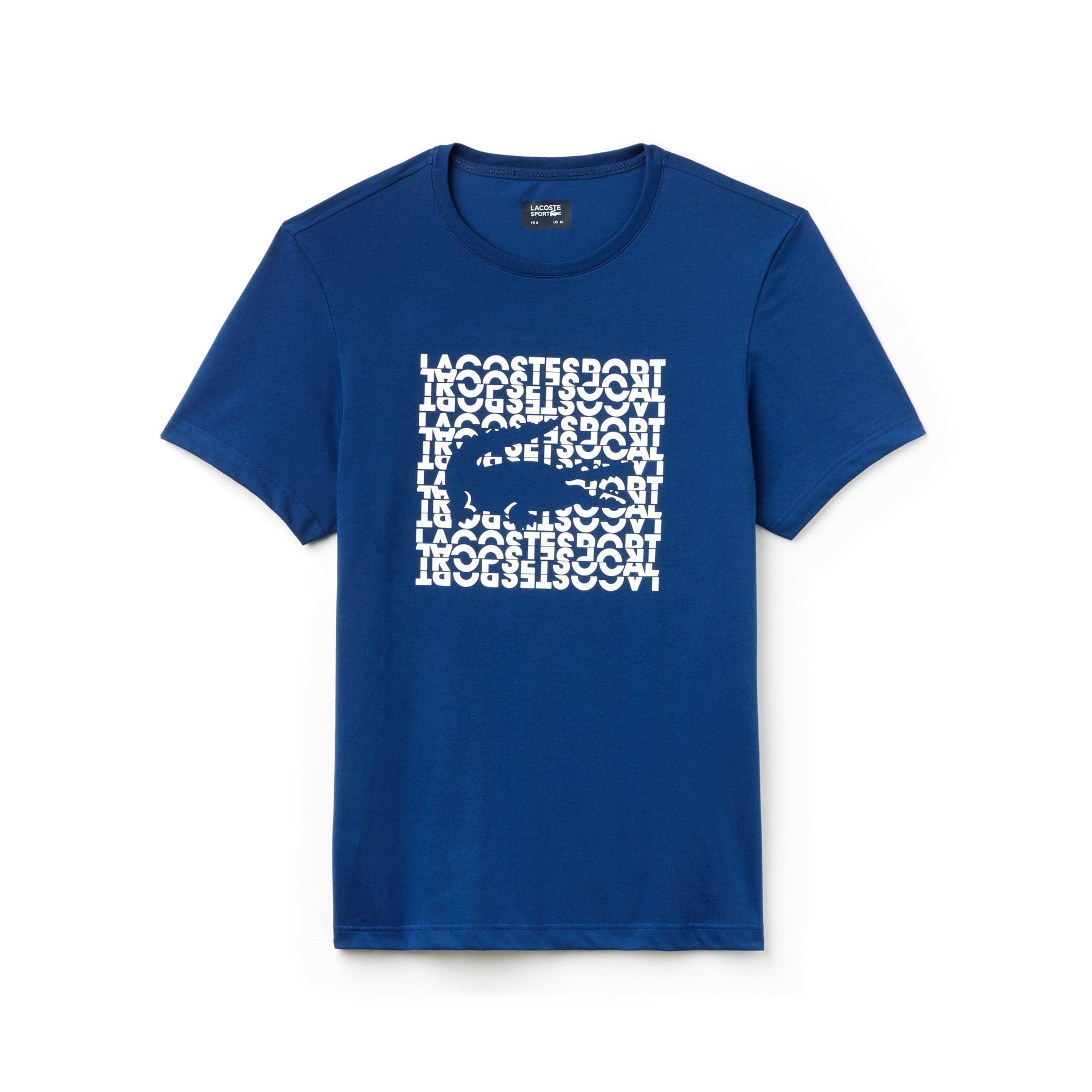 Men's Lacoste SPORT Logo Technical Jersey Tennis T-shirt