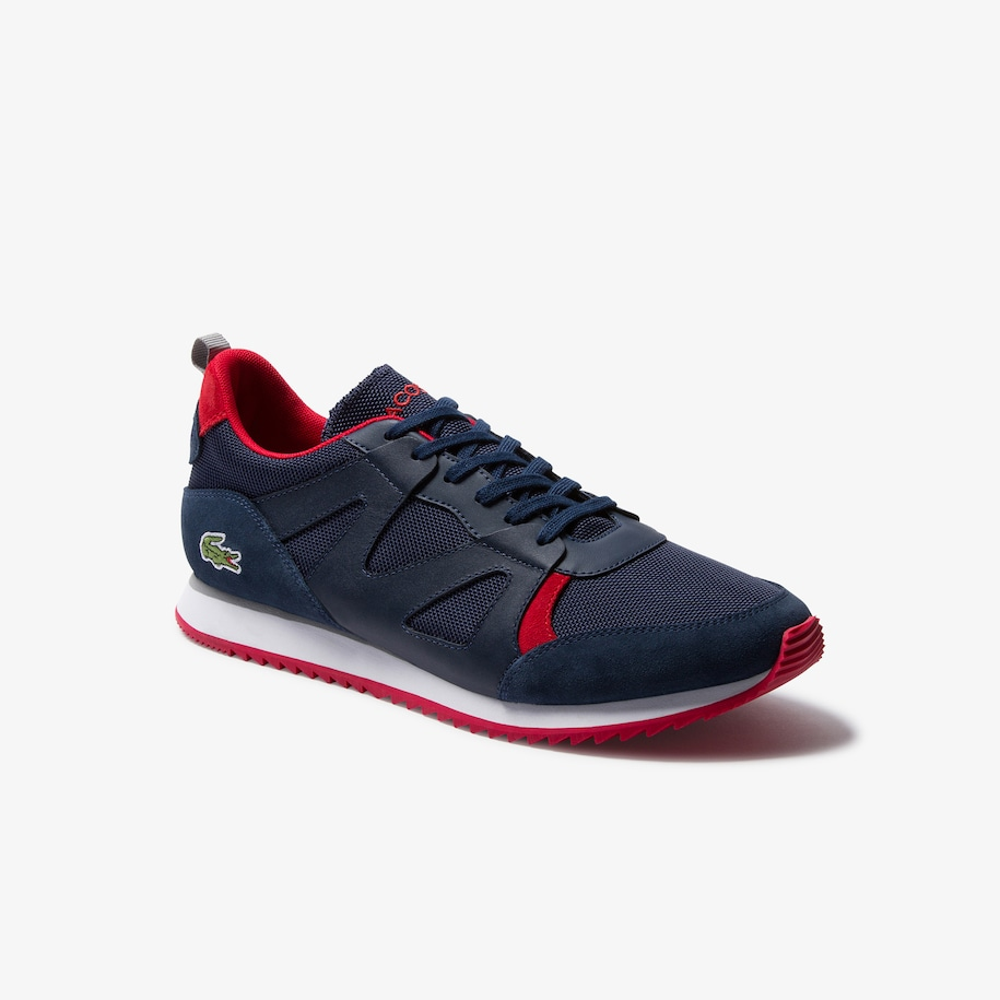 Men's Aesthet Textile and Suede Trainers