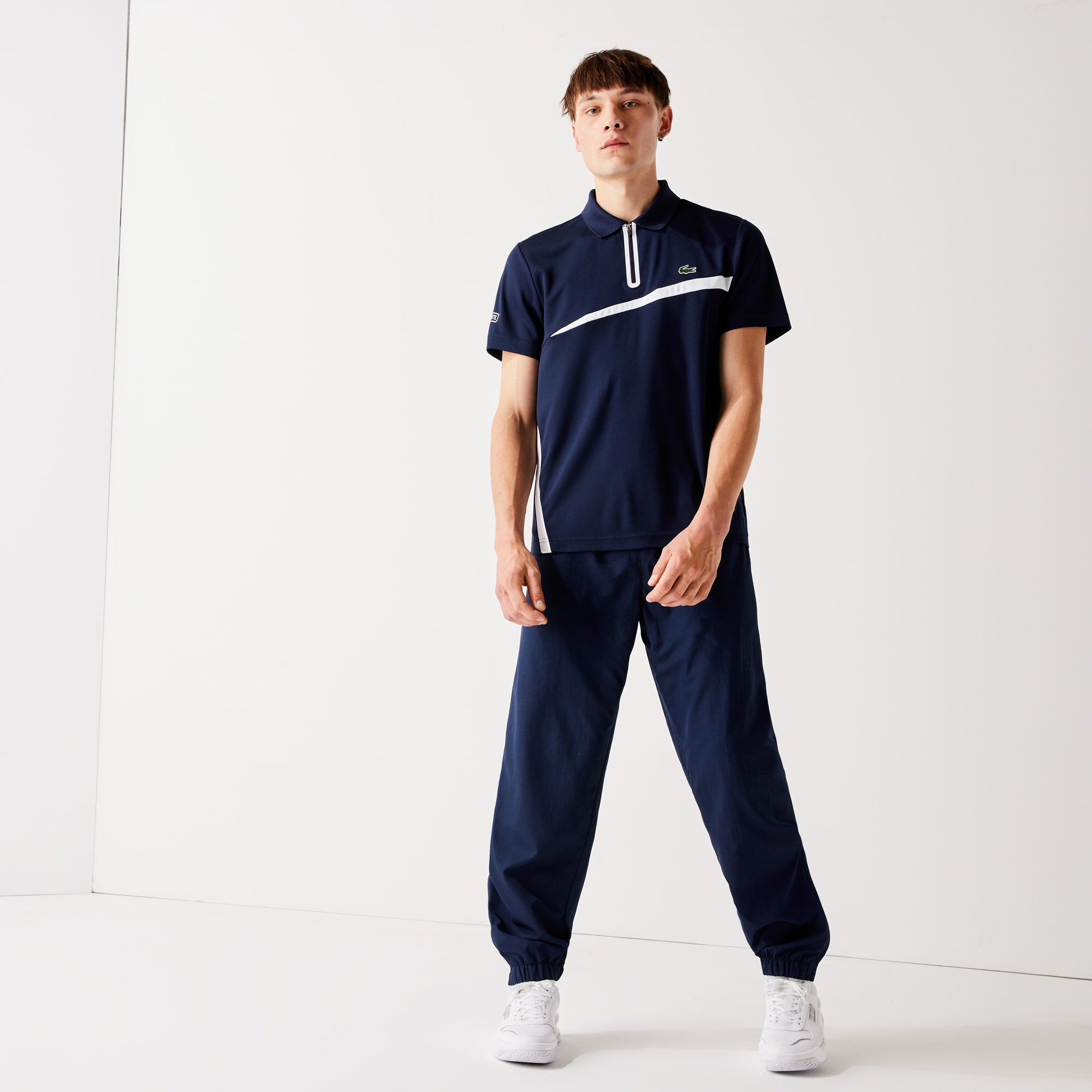 2a36da20 Men's Lacoste SPORT Tennis trackpants in diamond weave taffeta | LACOSTE