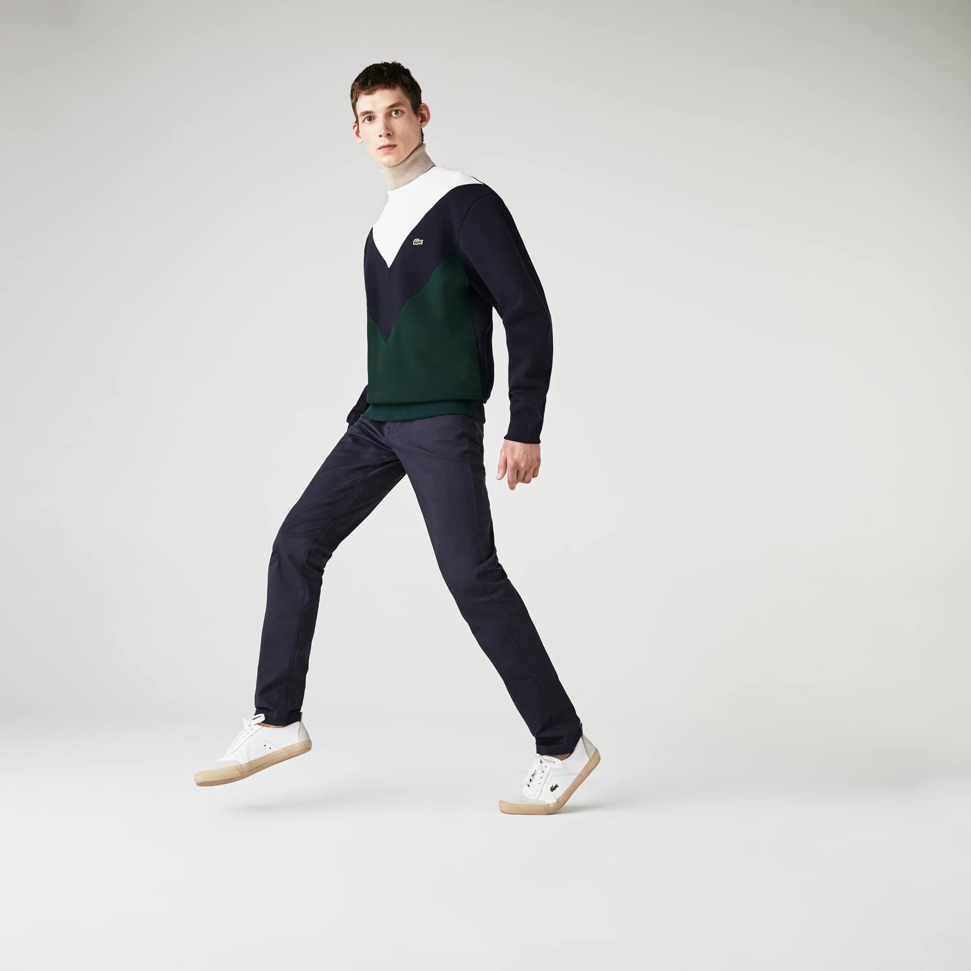 Men's Slim Fit 5-Pocket Stretch Cotton Gabardine Pants
