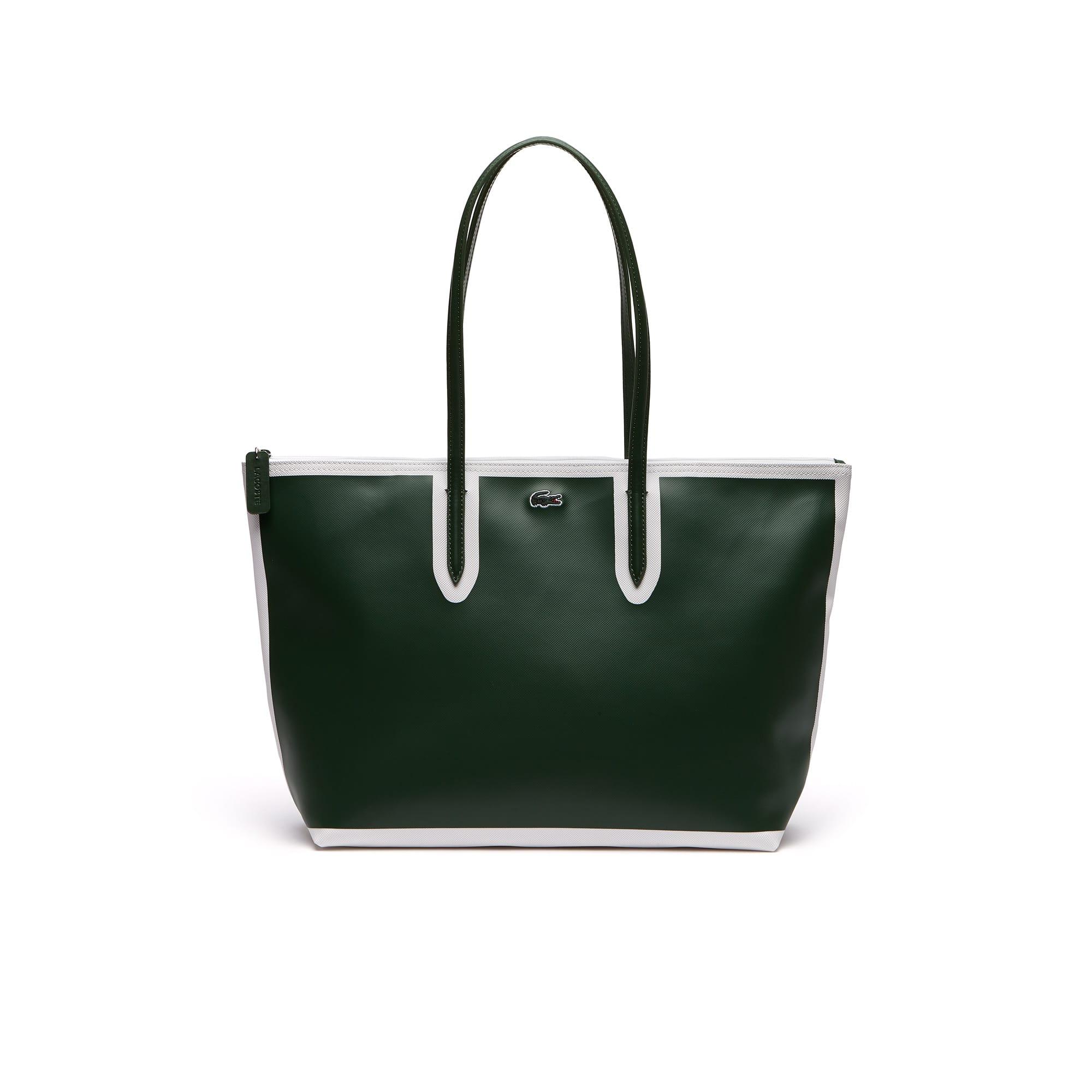 f19f00486a Women s L.12.12 Concept Colorblock Petit Piqué Large Zip Tote Bag