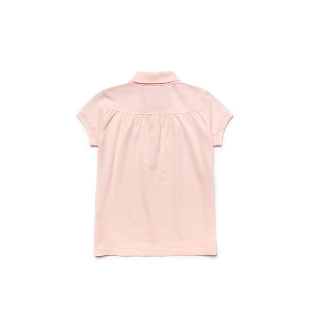 d0e967e3c Kids Lacoste Polo Shirt in gathered mini piqué