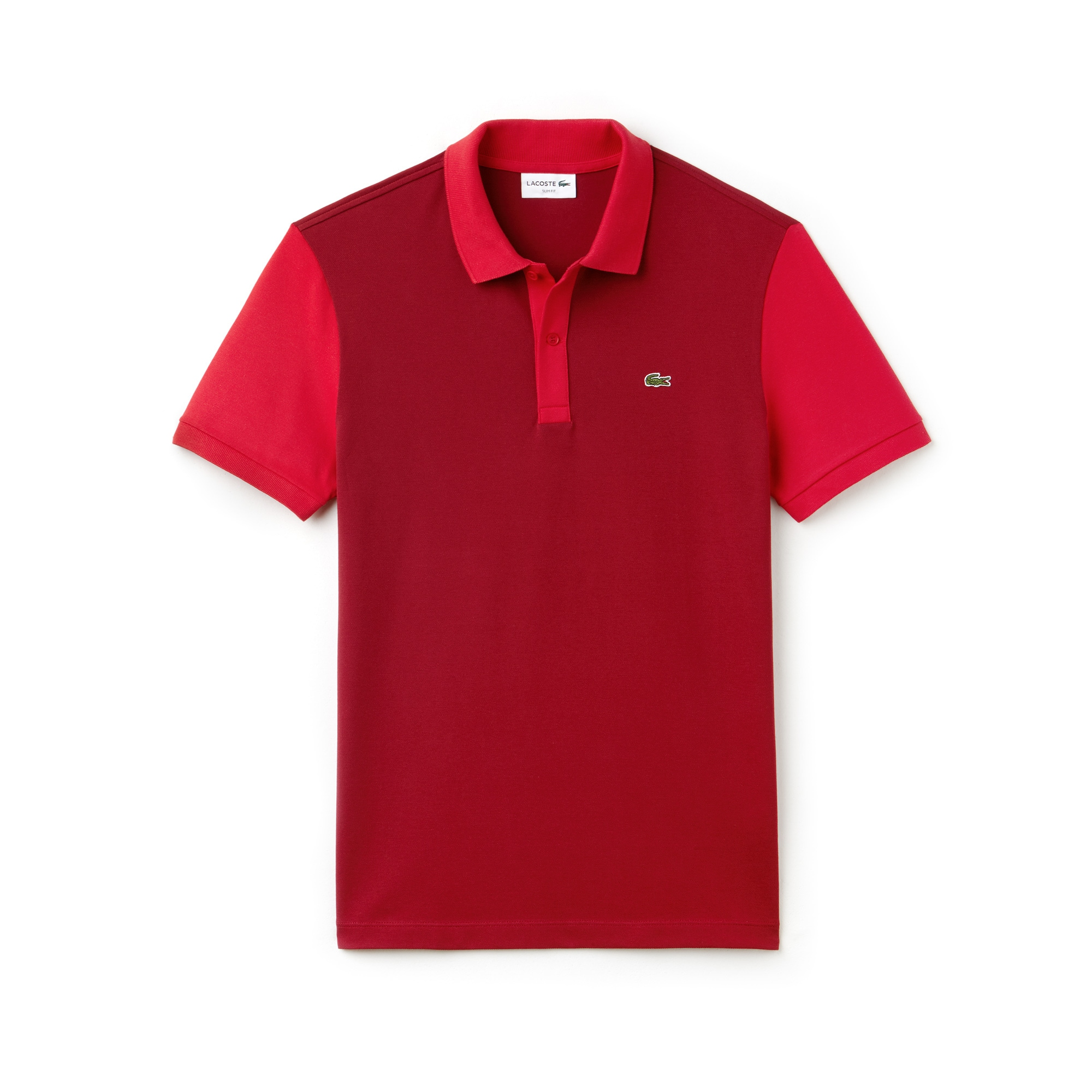 Men's Lacoste Slim Fit Colorblock Stretch Pima Piqué Polo Shirt