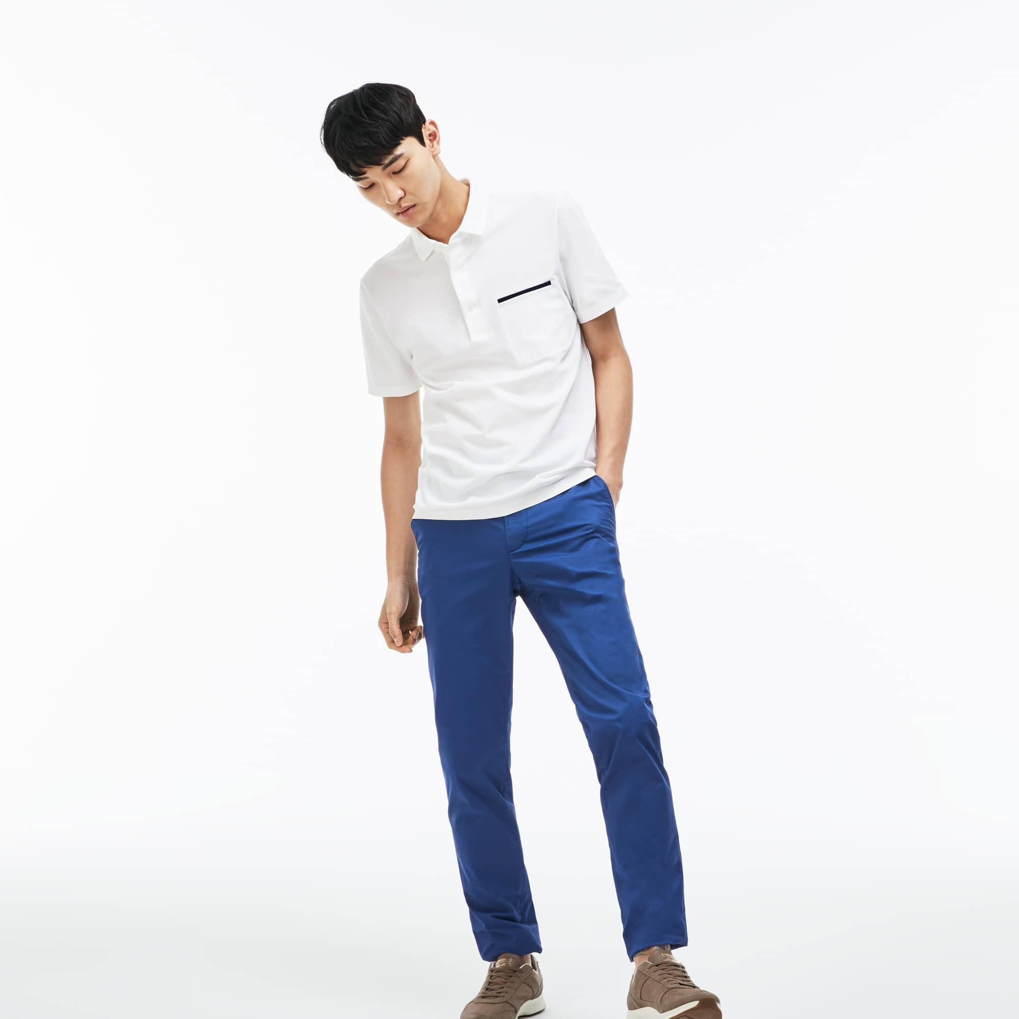 Men's Slim Fit Stretch Pima Cotton Twill Chino Pants