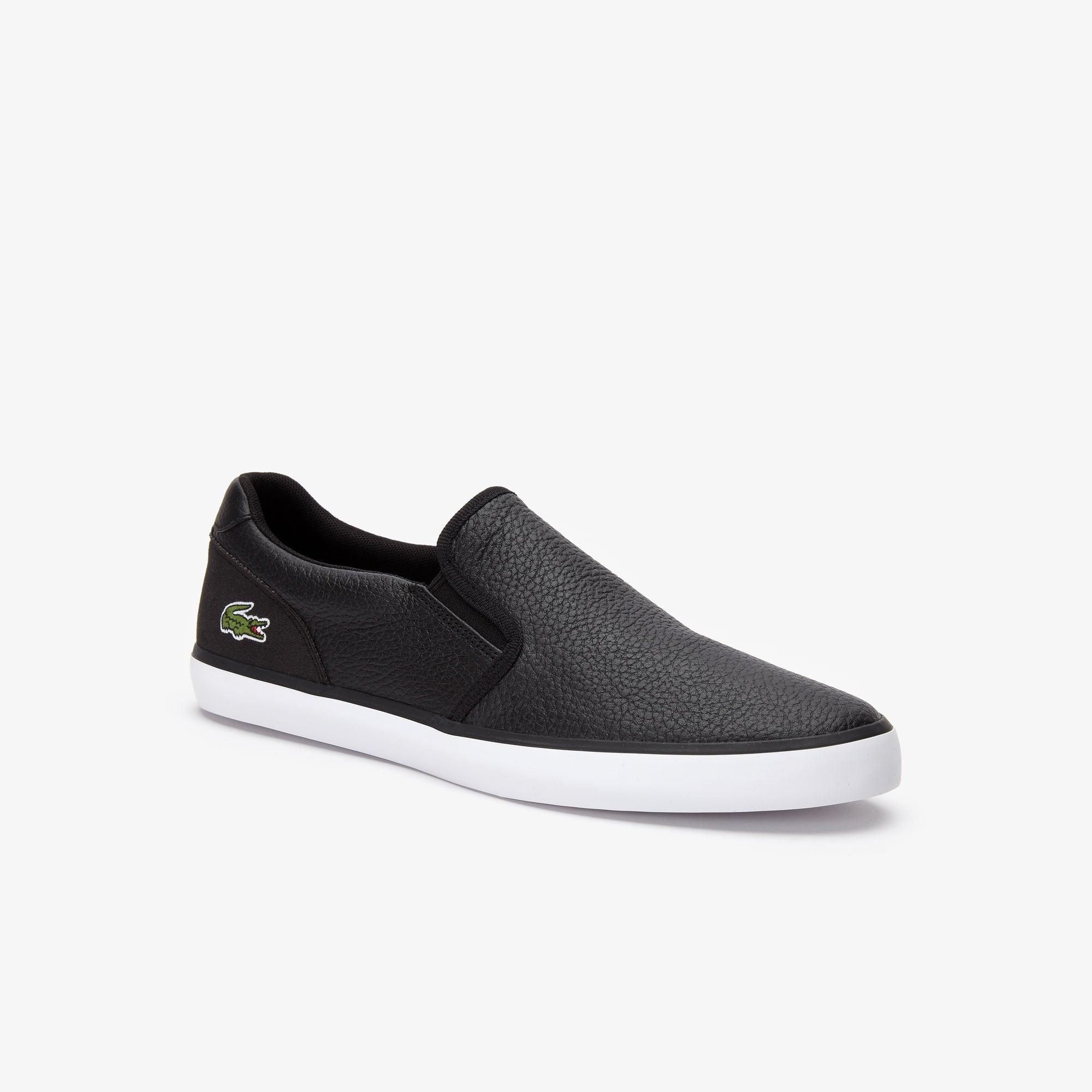 Men's Jouer Leather Slip-ons | LACOSTE