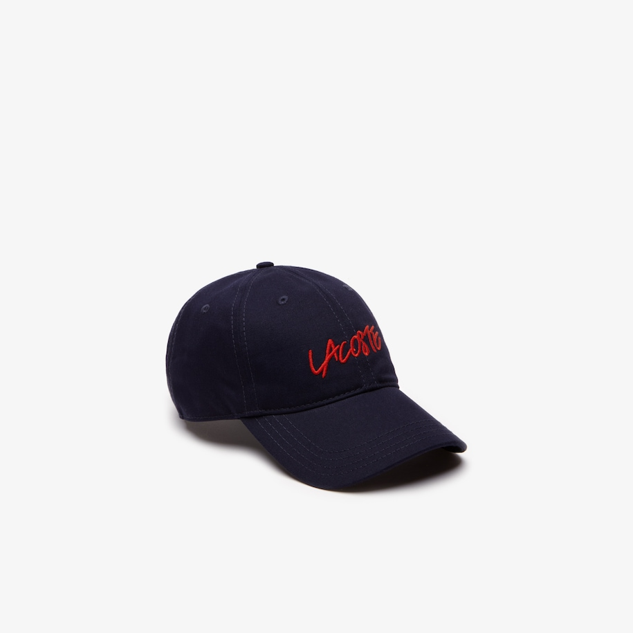 Lacoste LIVE Signature Embroidery Cotton Cap