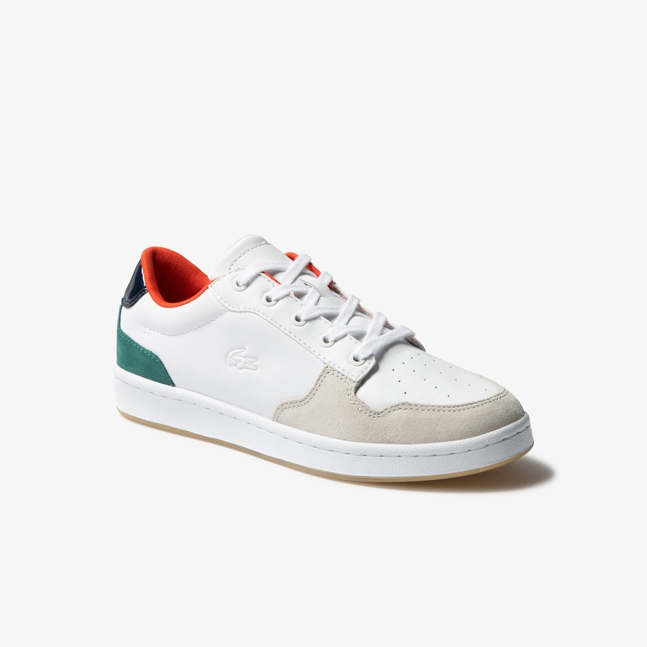 Women's Masters Cup Leather and Suede Trainers