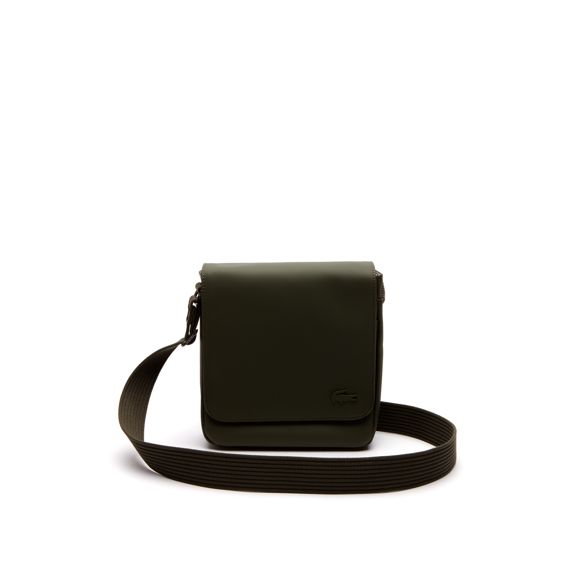 Men's Classic Petit Piqué Flap Bag
