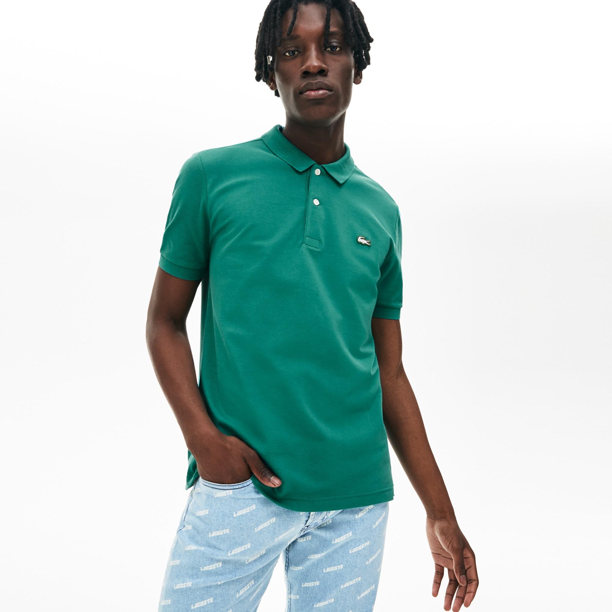 Lacoste Slim Unisex Shirt Petit Polo Fit Piqué Live k8n0XwOP