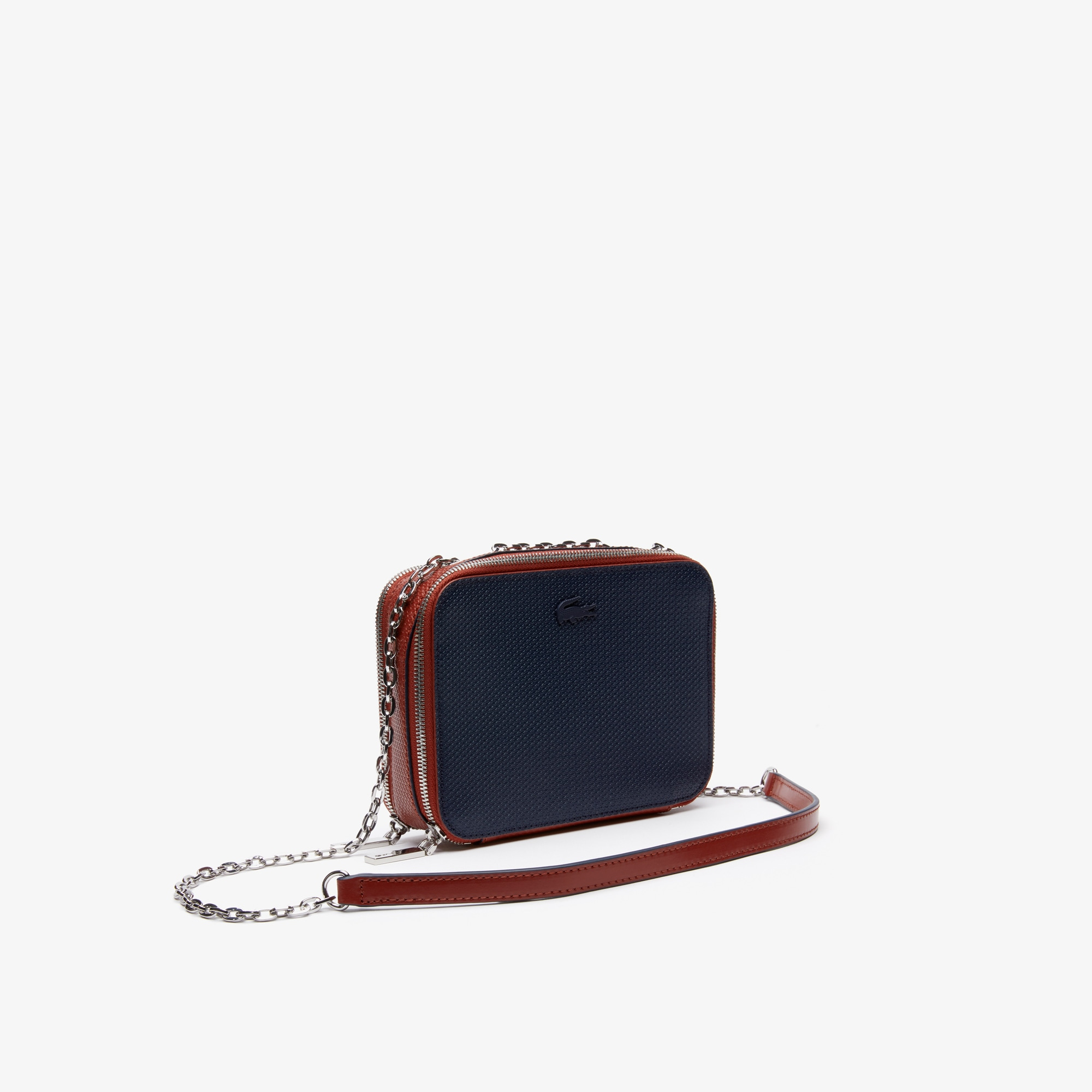 dcf99a7118 Women's Chantaco Chain Bicolour Piqué Leather Shoulder Bag
