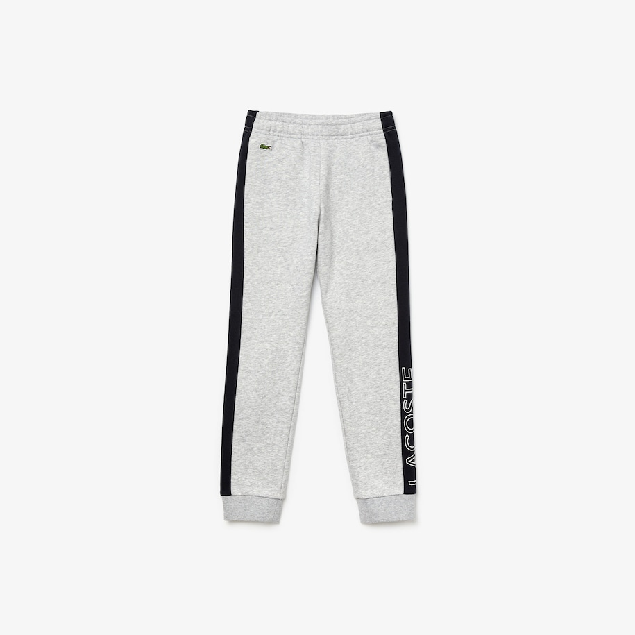 Boys' Lacoste SPORT Colourblock Fleece Trackpants