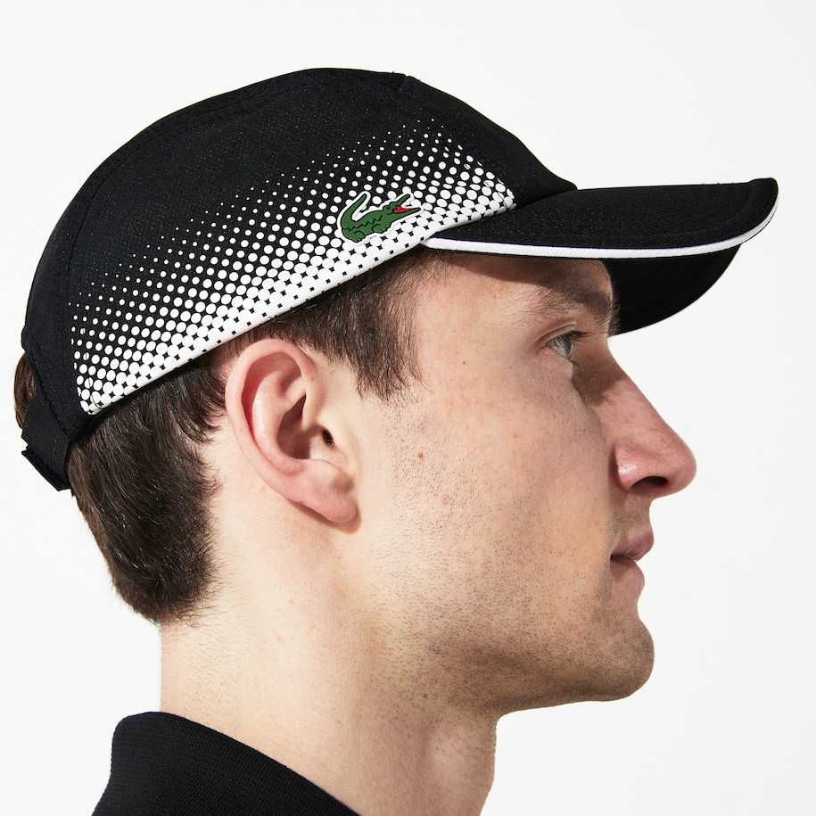 Lacoste SPORT Shaded Print And Contrast Piping Tennis Cap