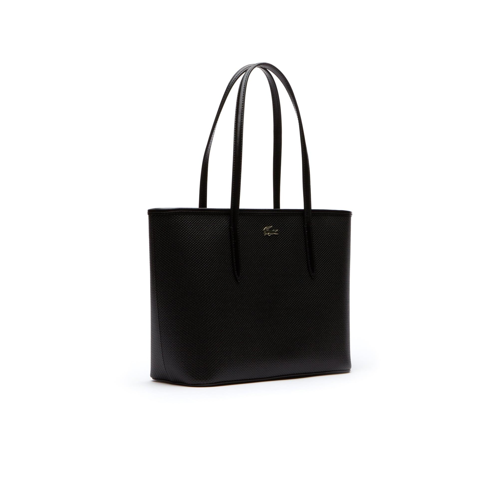 Women S Chantaco Zippered Piqué Leather Tote Bag