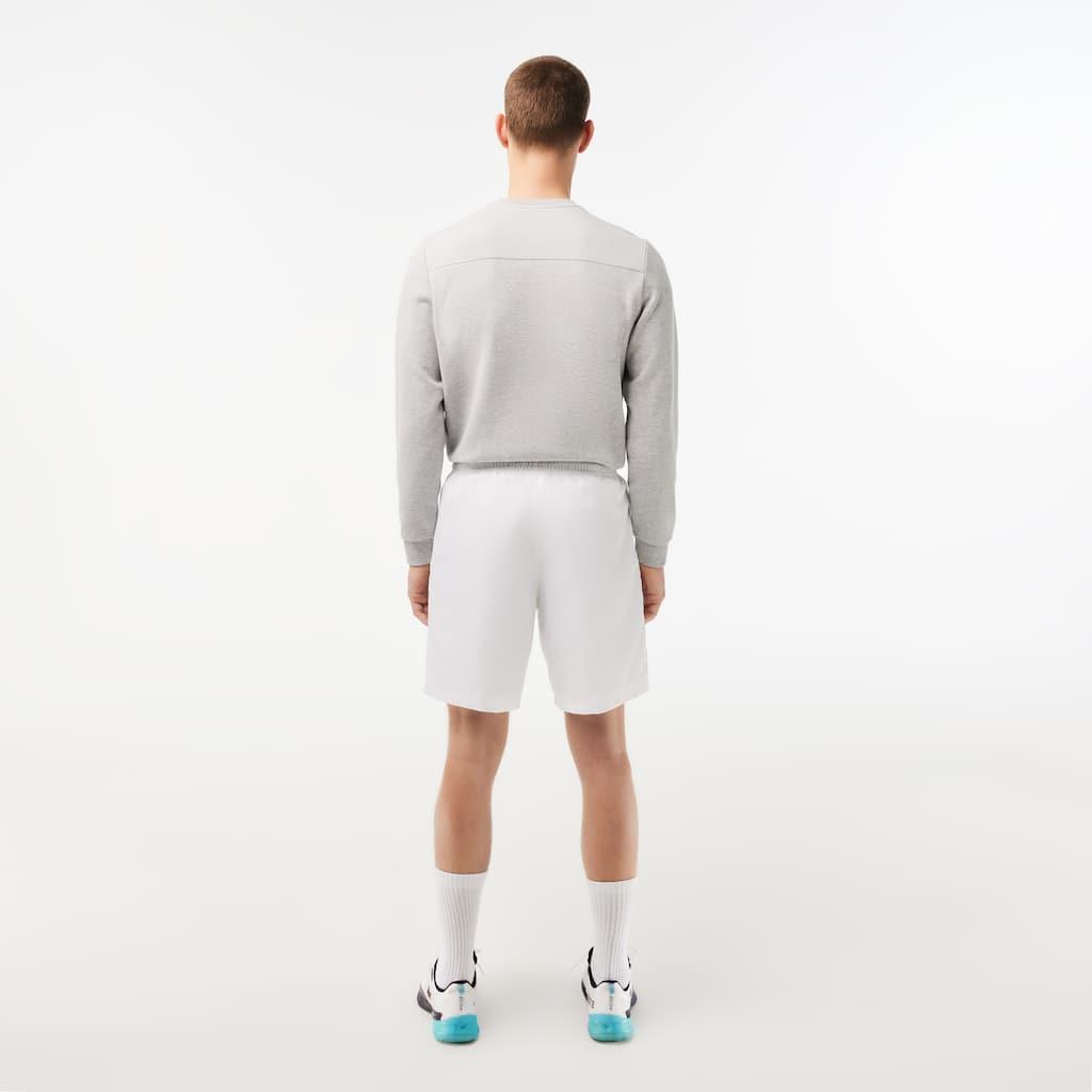 e50b813371084 Men s Lacoste SPORT tennis shorts in solid diamond weave taffeta ...