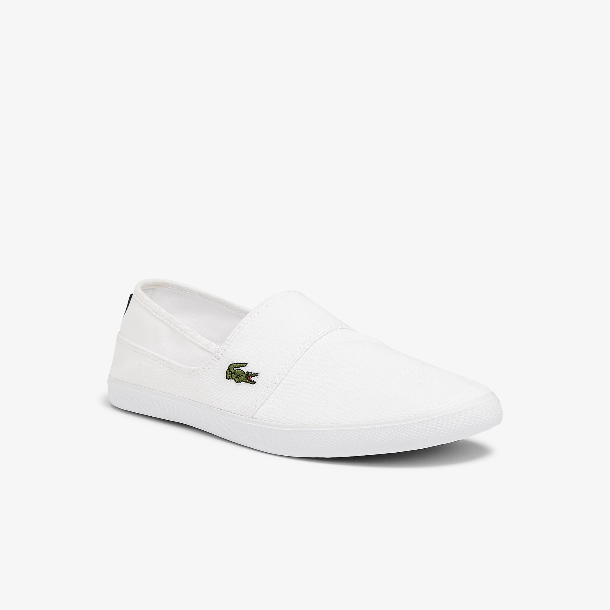 Lacoste Marice Bl 2 Mens White Canvas Slip On